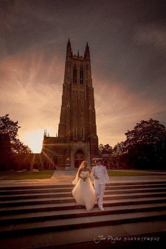 duke chapel weddings ~ claire and zach