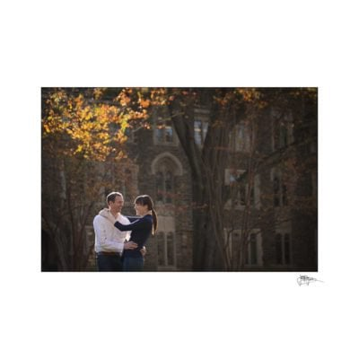duke chapel engagement photography ~ brianna and chris
