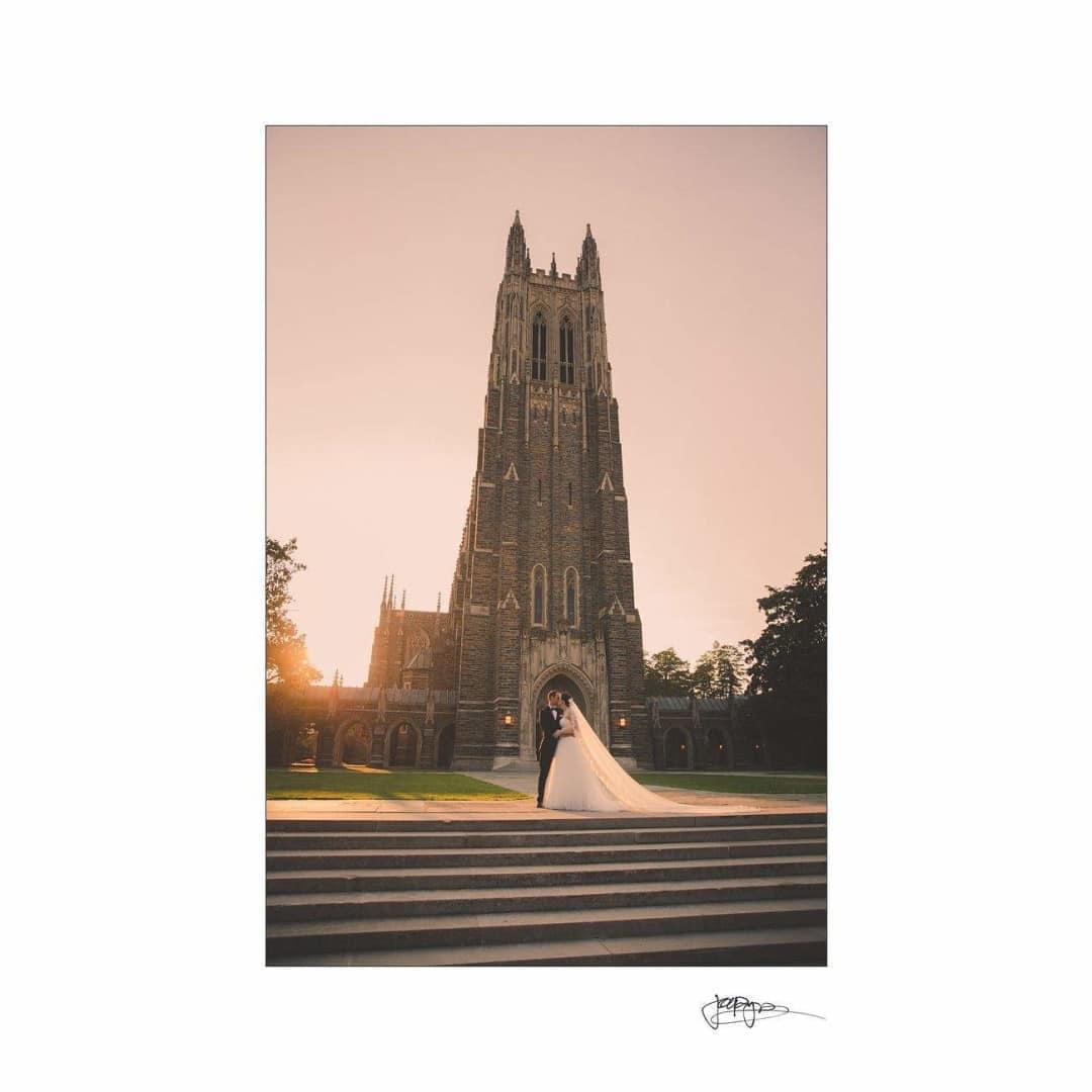 duke chapel weddings – brianna & chris