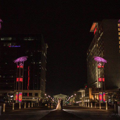 downtown raleigh wedding photograph
