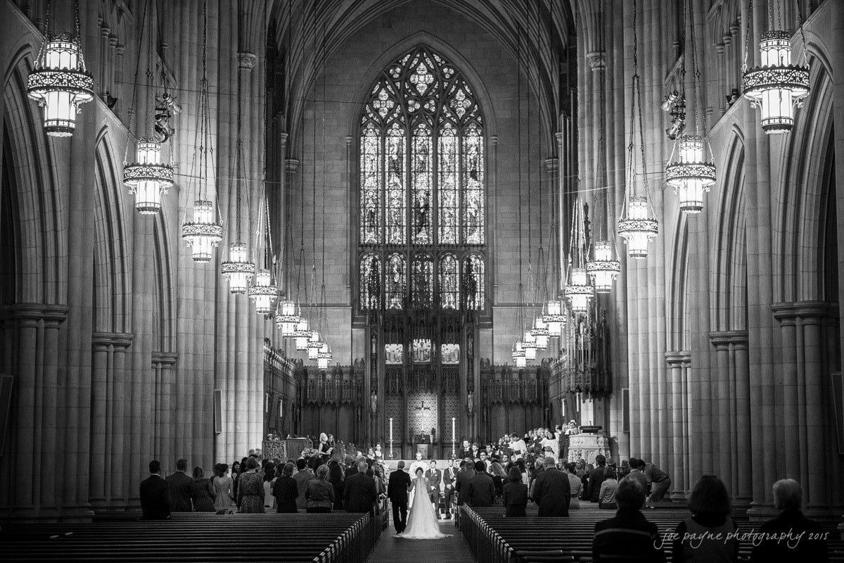 duke chapel wedding photography