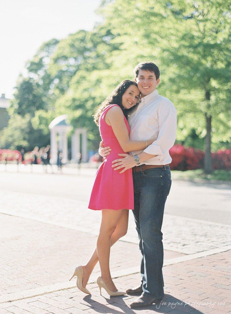 Chapel Hill Wedding Photographer UNC Engagement-1