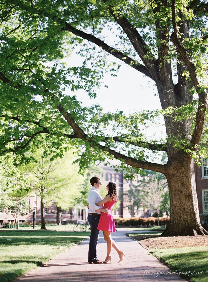 Chapel Hill Wedding Photographer UNC Engagement-4