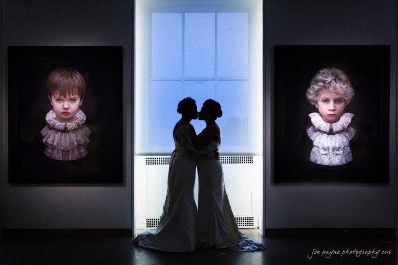 21c museum hotel wedding photography – raine & chasity