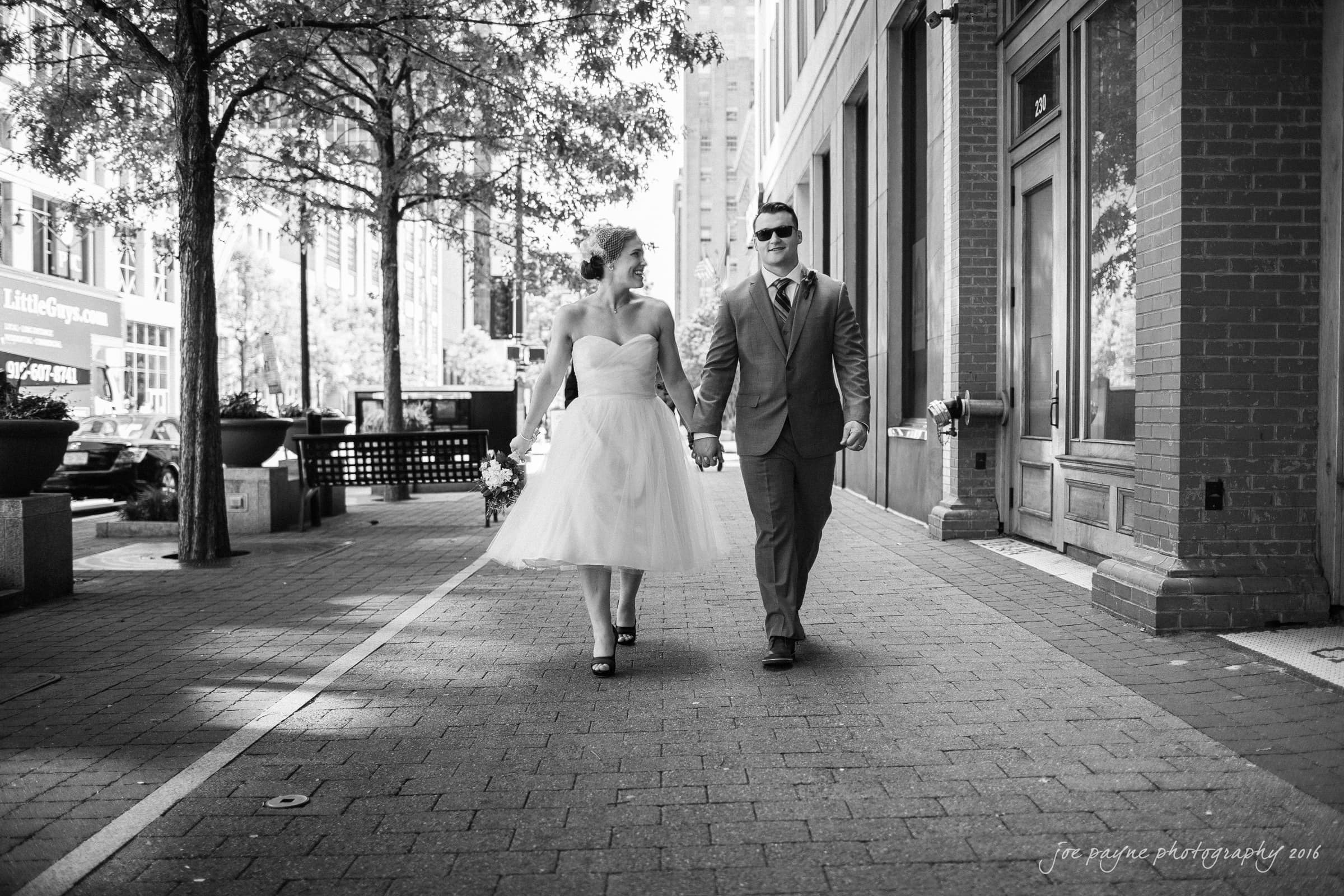 Downtown Raleigh Wedding Photographer - Alexandra & Trent -14