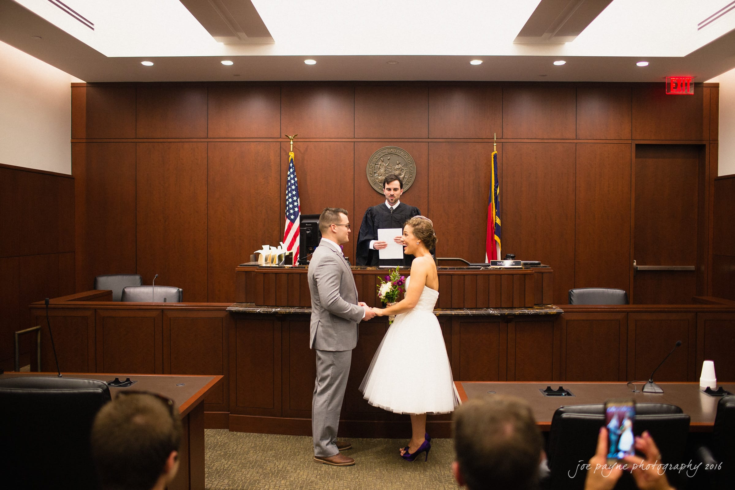 Downtown Raleigh Wedding Photographer - Alexandra & Trent -7