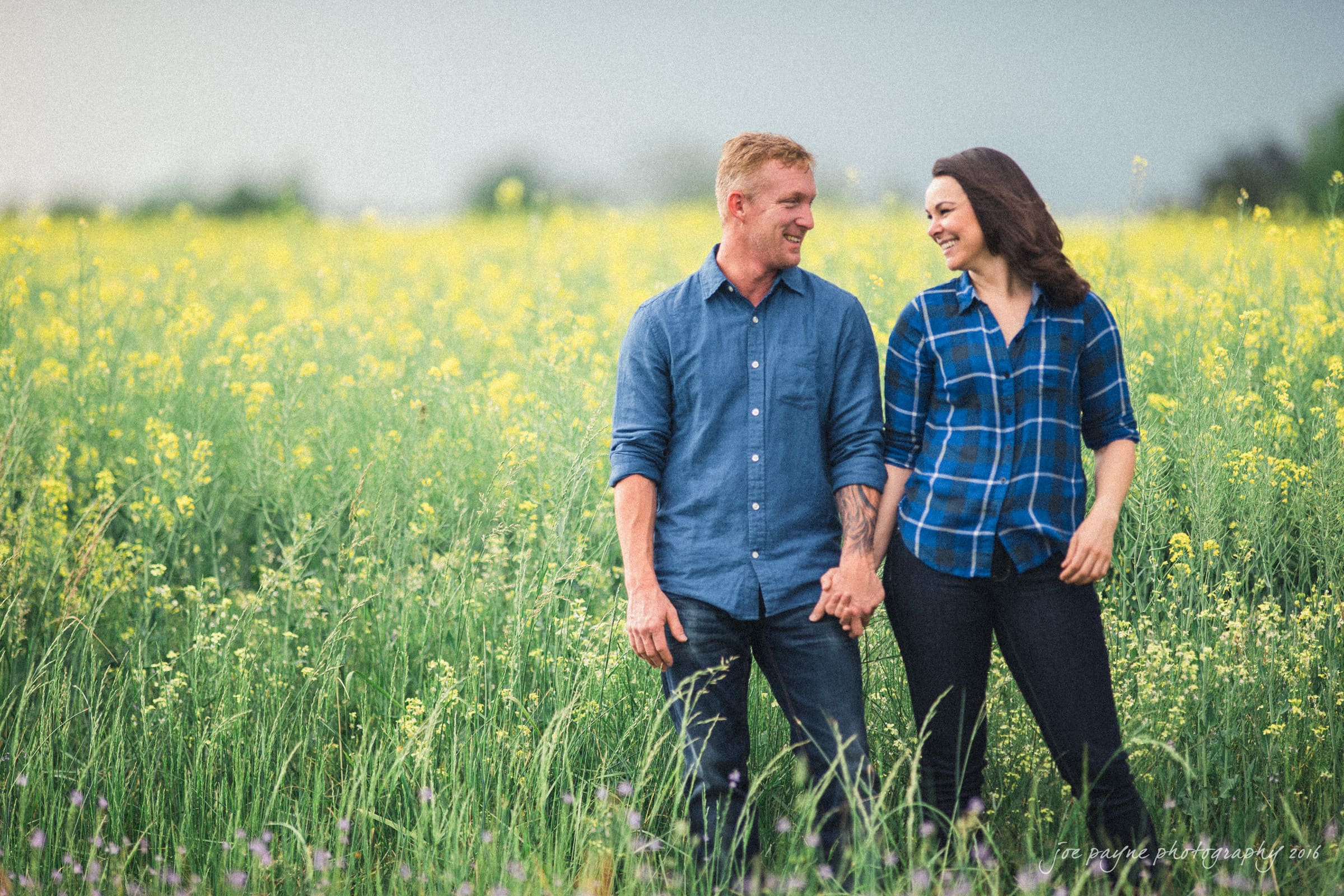 Rural NC Engagement Photography - Christina & Jerry-10