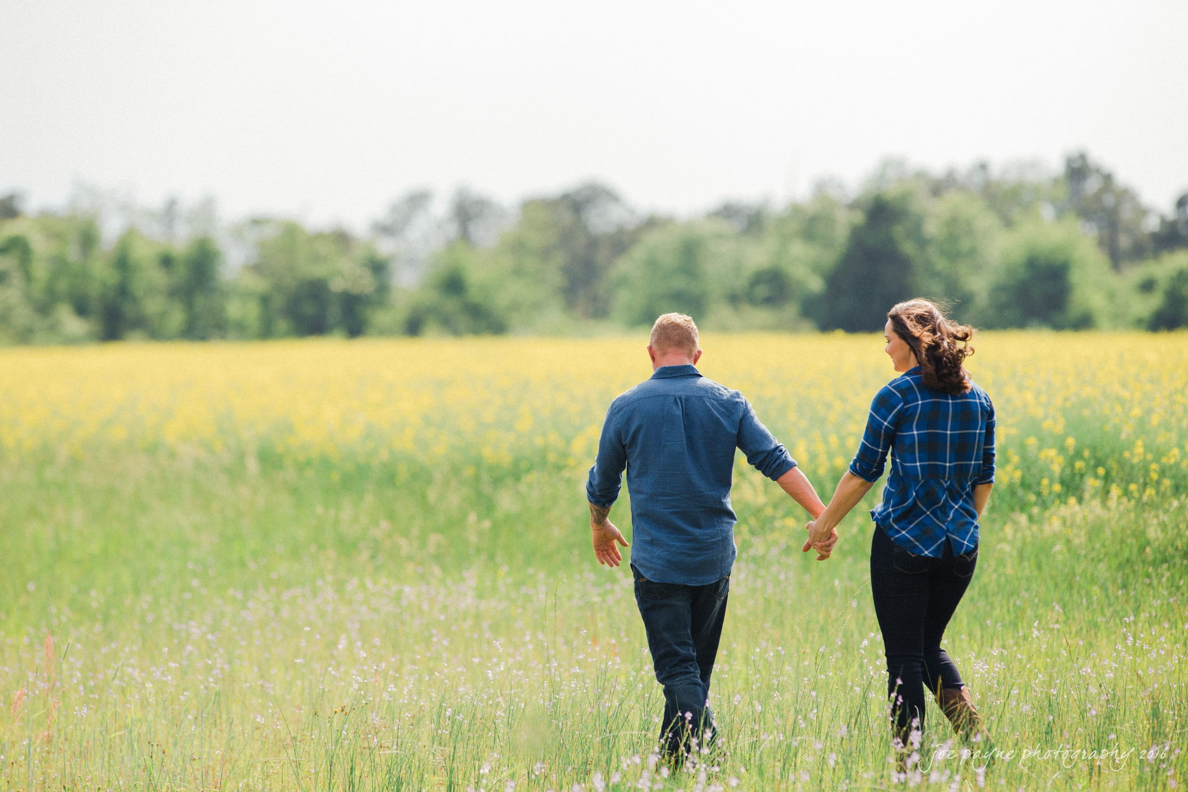 Rural NC Engagement Photography - Christina & Jerry-11