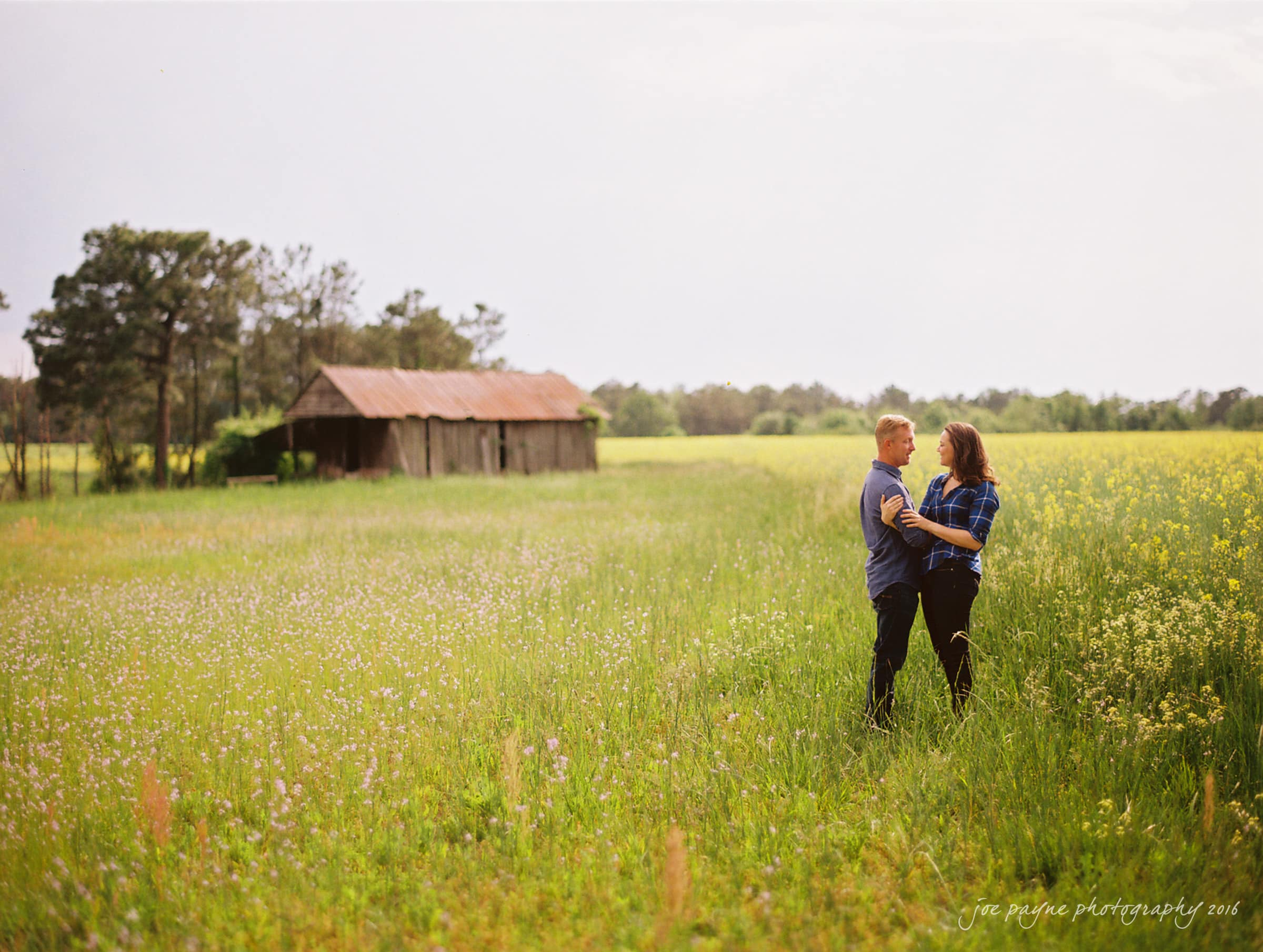Rural NC Engagement Photography - Christina & Jerry-18