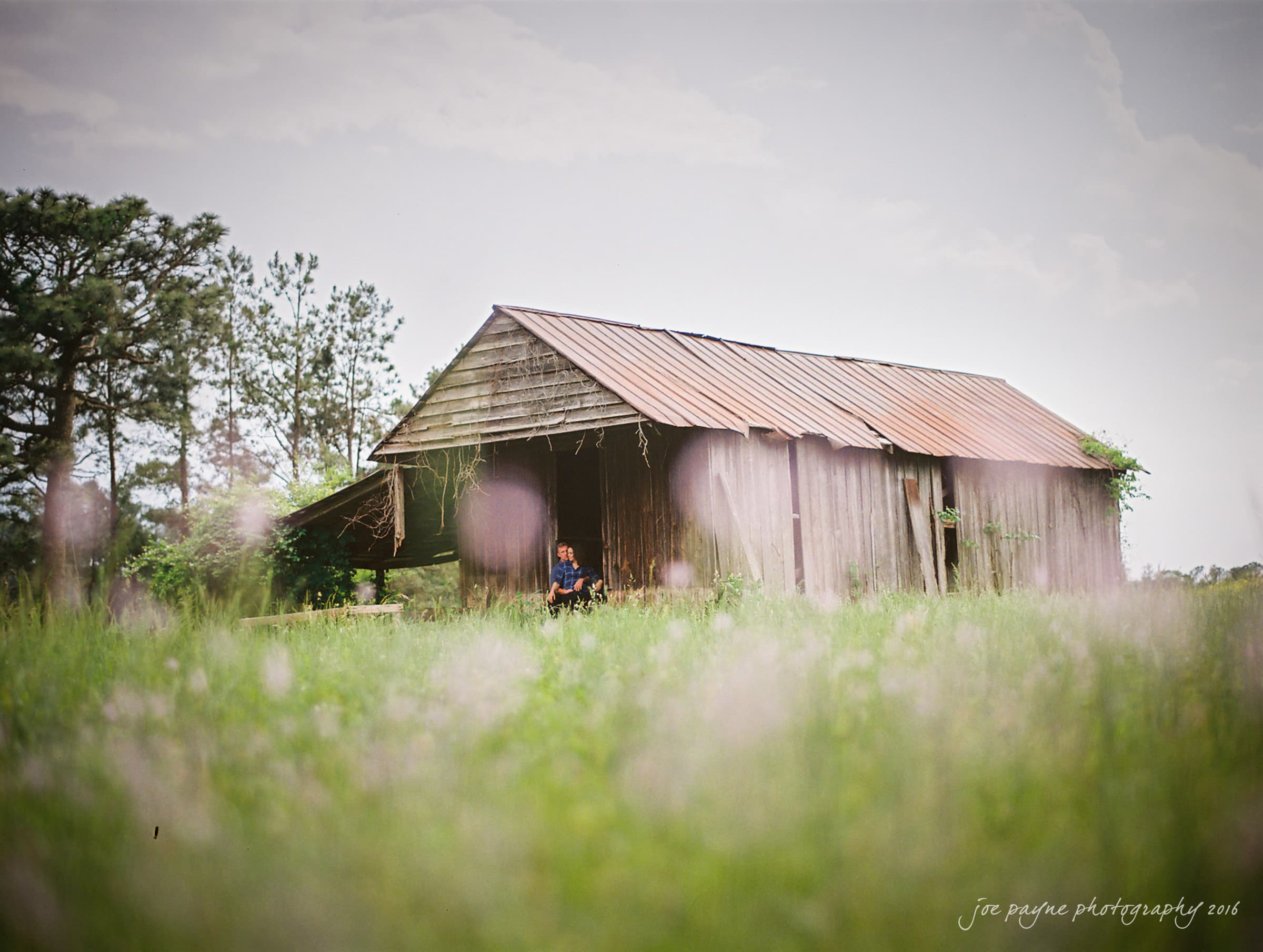 Rural NC Engagement Photography - Christina & Jerry-19