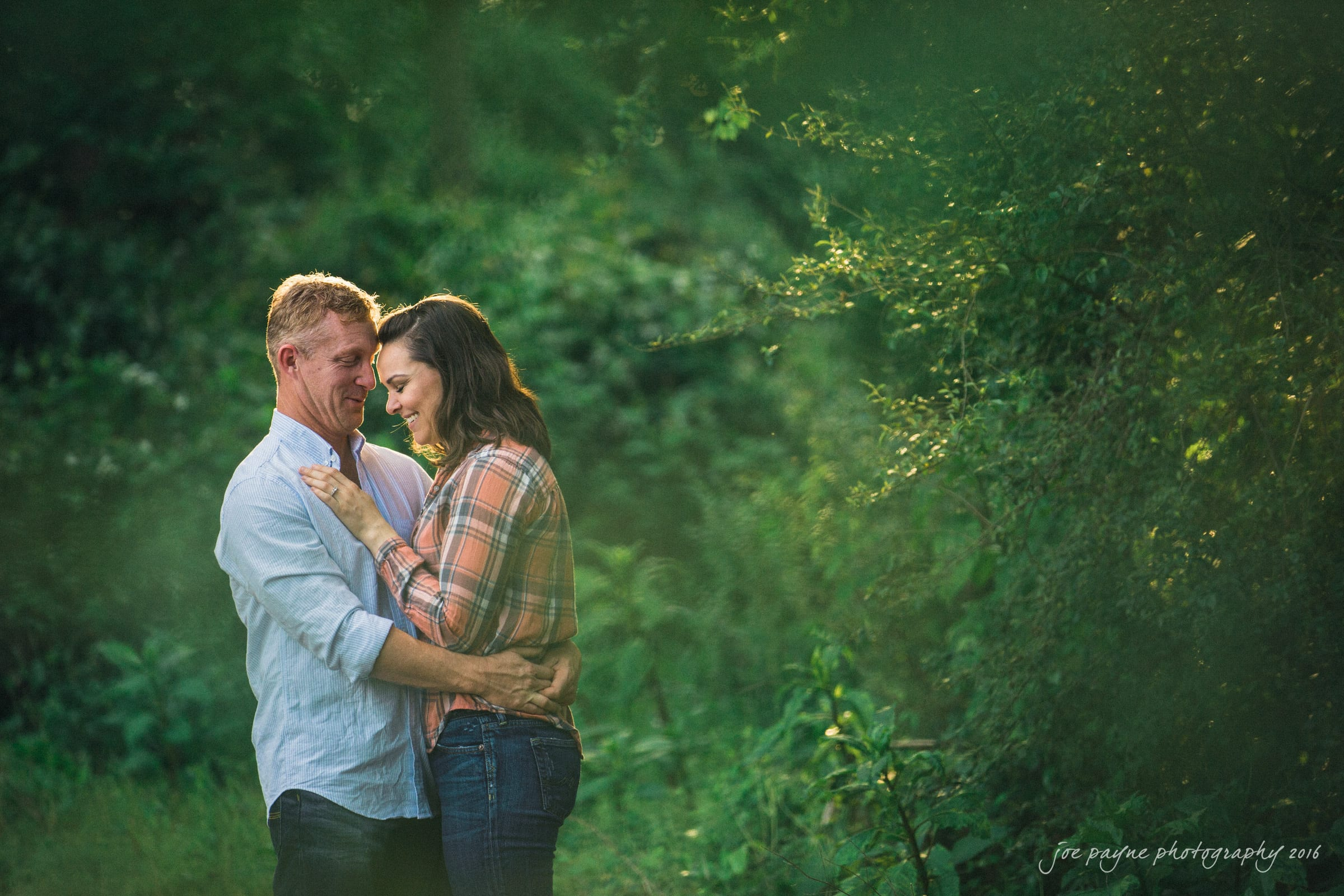 Rural NC Engagement Photography - Christina & Jerry-2