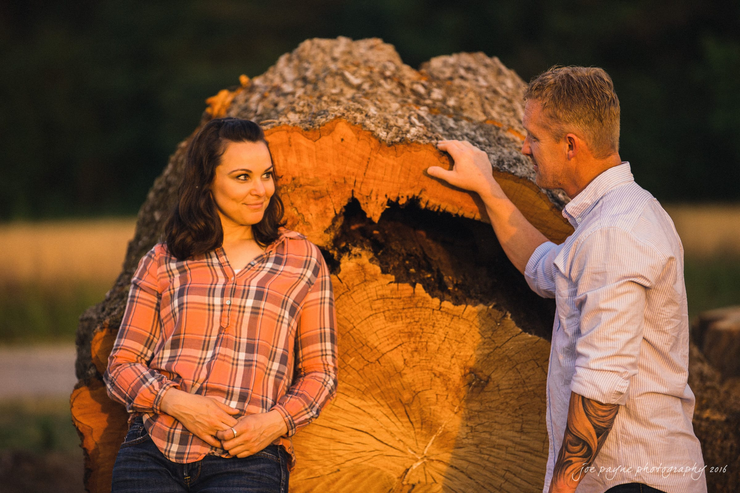 Rural NC Engagement Photography - Christina & Jerry-5