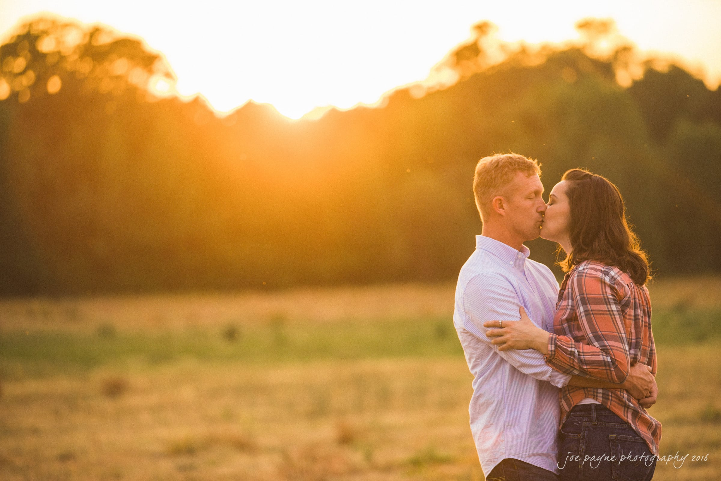 Rural NC Engagement Photography - Christina & Jerry-6