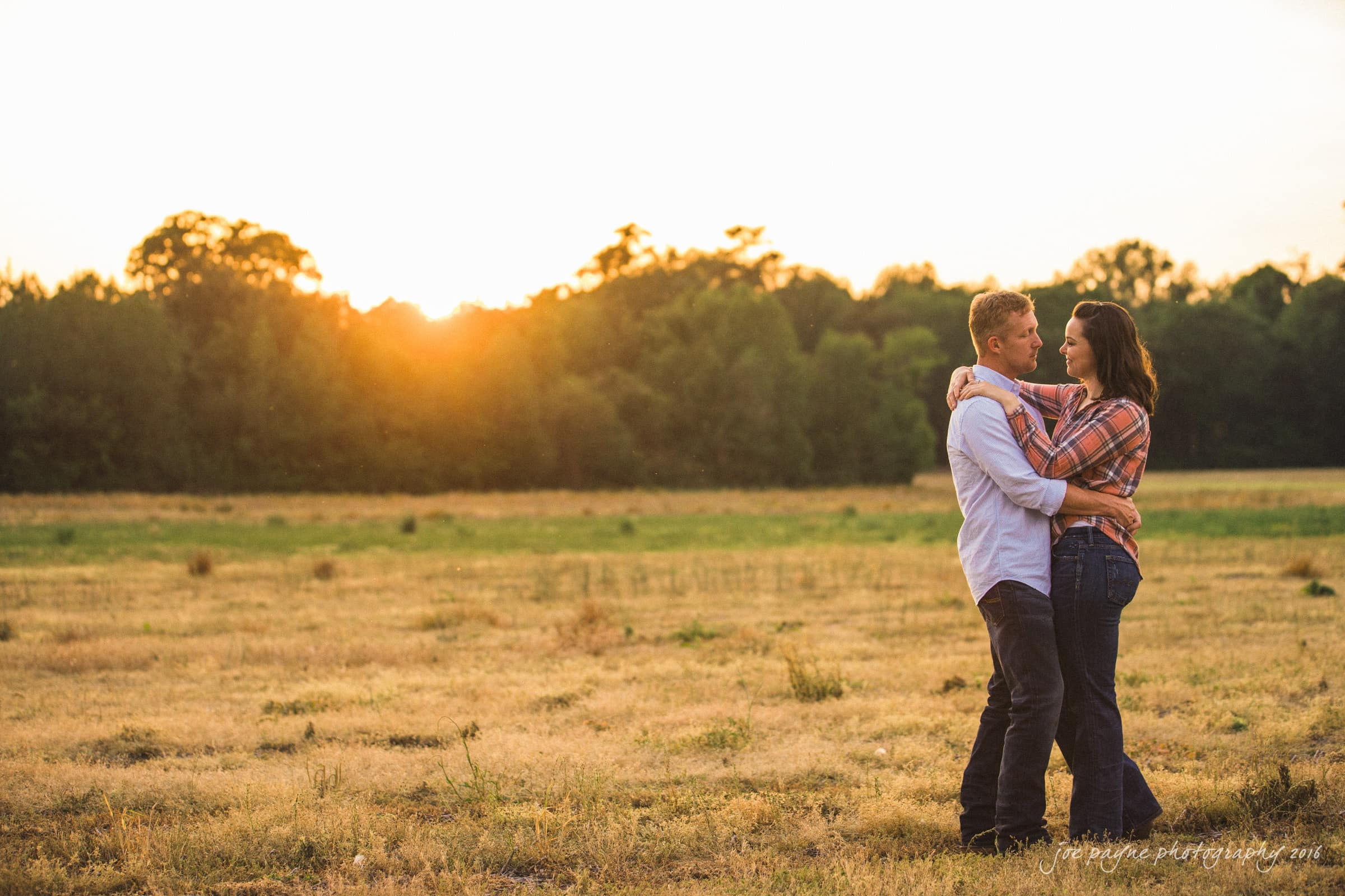 Rural NC Engagement Photography - Christina & Jerry-7