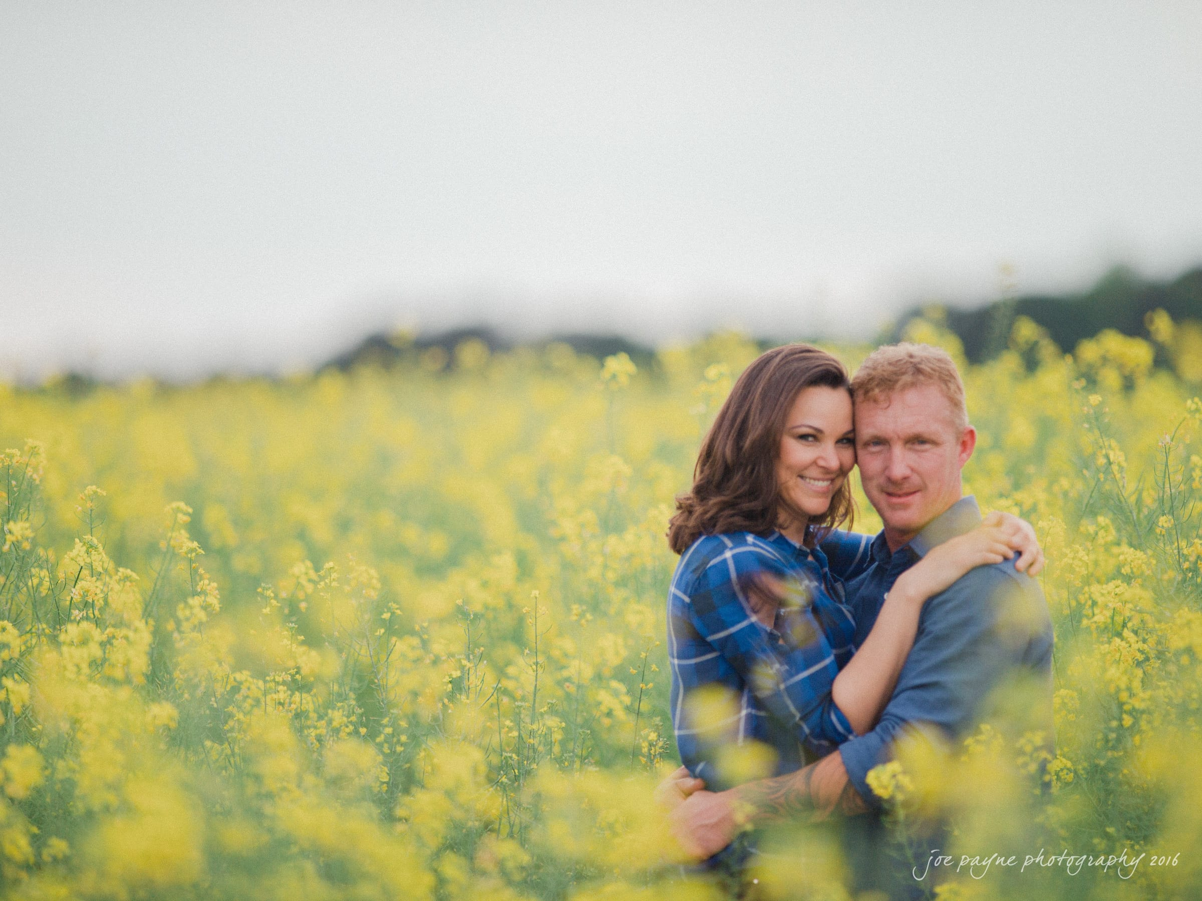 Rural NC Engagement Photography - Christina & Jerry-9