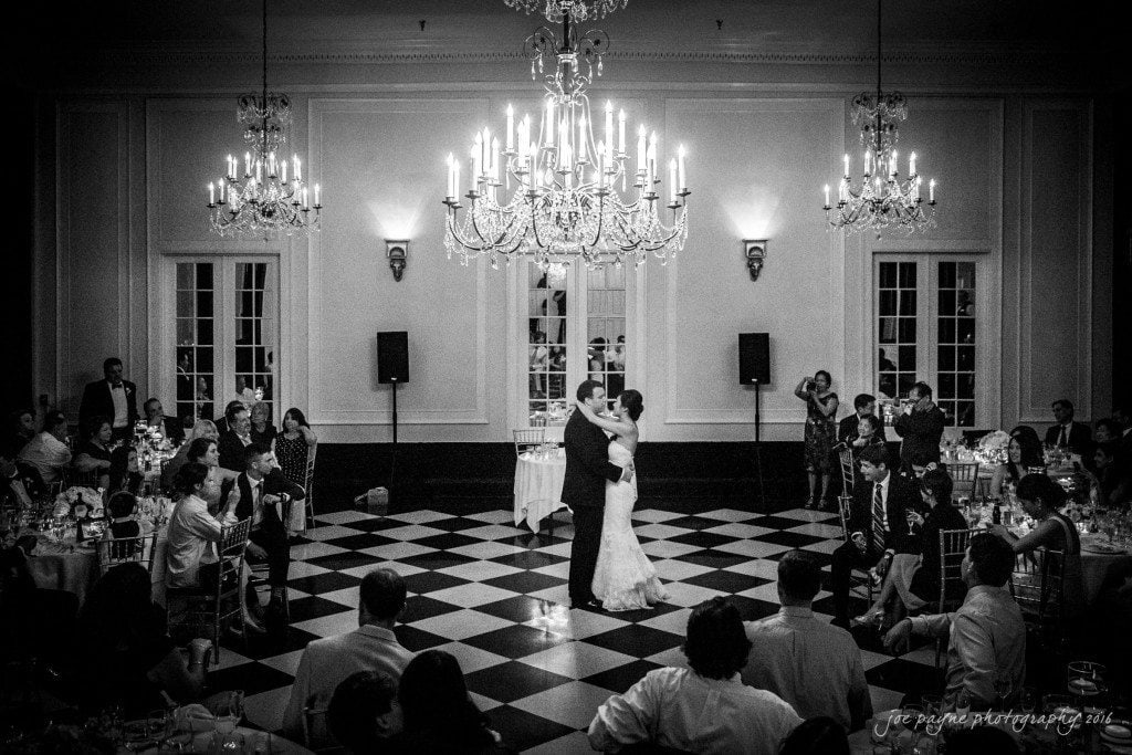 Angel & Jeff's first dance in the beautiful Old Well ballroom at the Carolina Inn yesterday. Congrats guys! Have fun in Antigua!