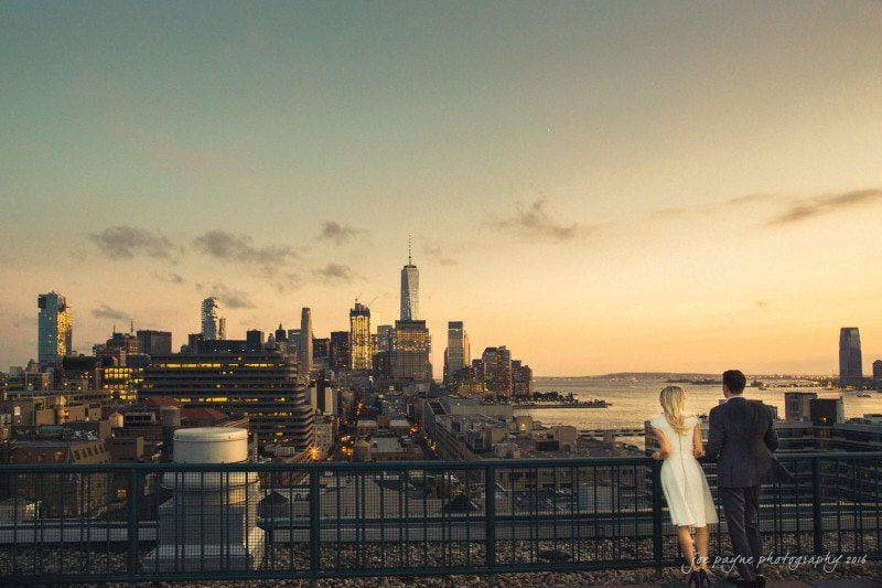 nyc engagement session – lara & juice