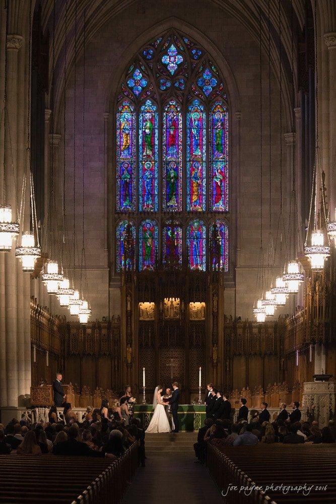 Duke Chapel Weddings - Mary Pat & Jon - 31