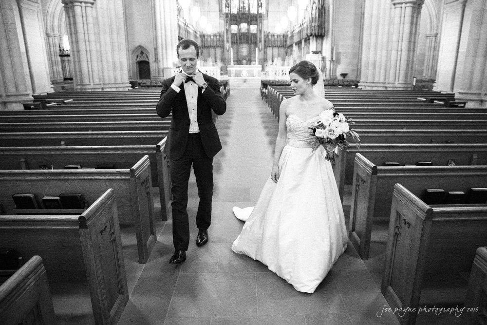 Duke Chapel Weddings - Mary Pat & Jon - 37