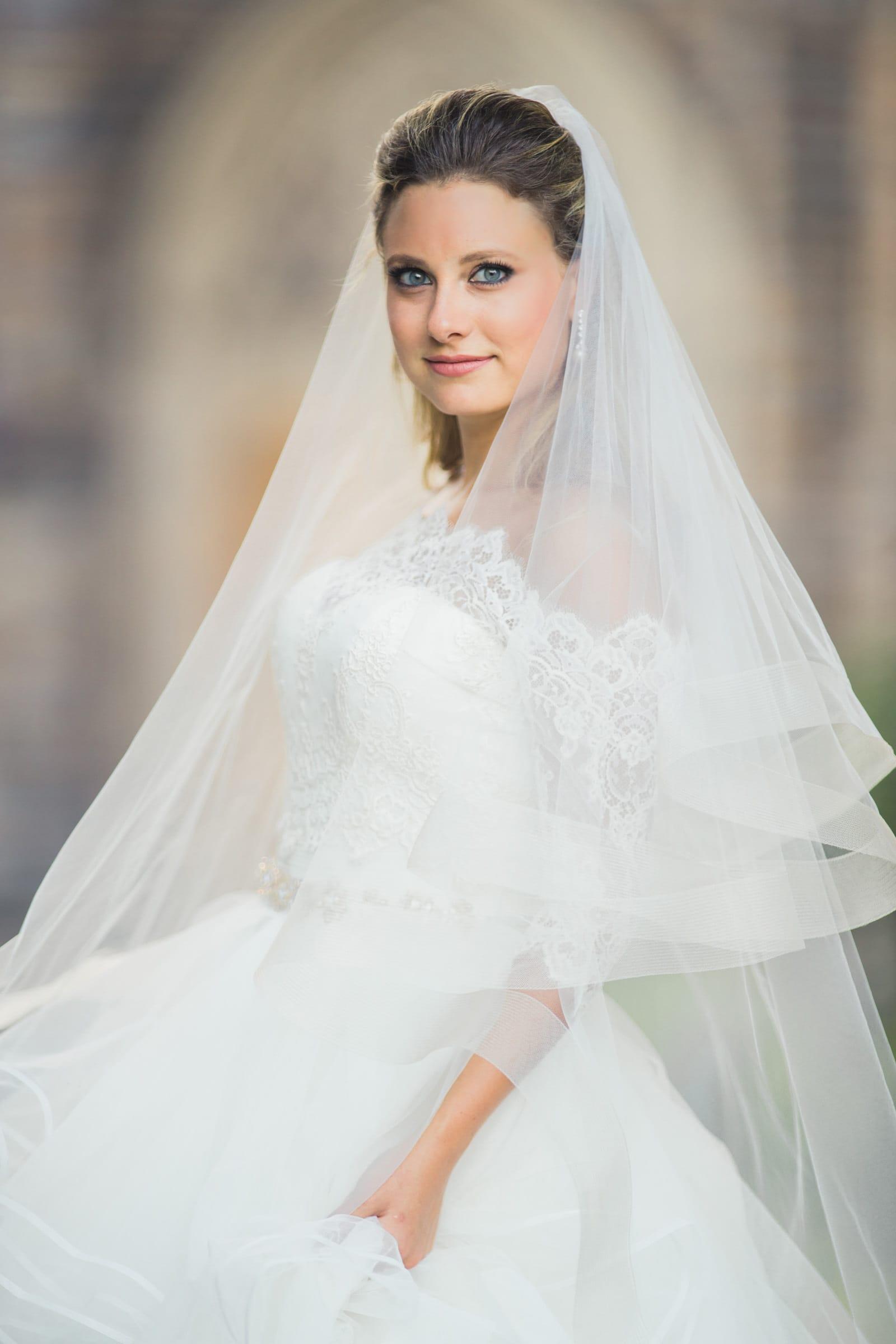 Duke Chapel Wedding Bridal Portfolio
