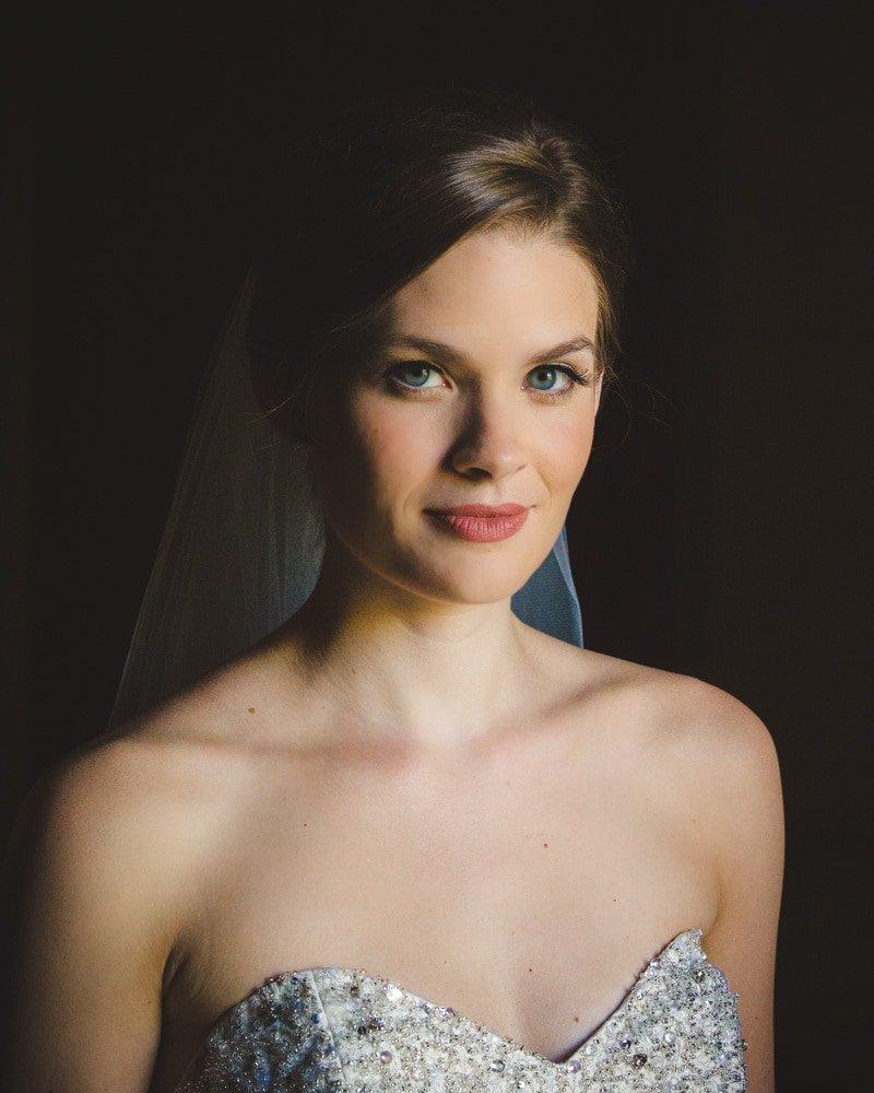 Durham Wedding Photographer - Bridal Portrait-1