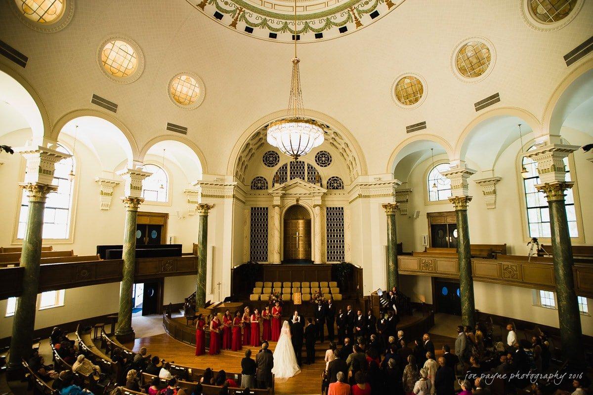 First-Baptist-Millennium-Center-Winston-Salem-NC-Wedding-Photography-Toni-Kevin-1