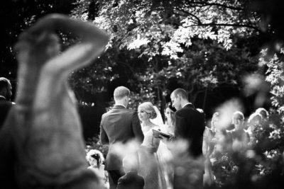 Raleigh-Wedding-Photographer-Gallery-Bride winking B&W