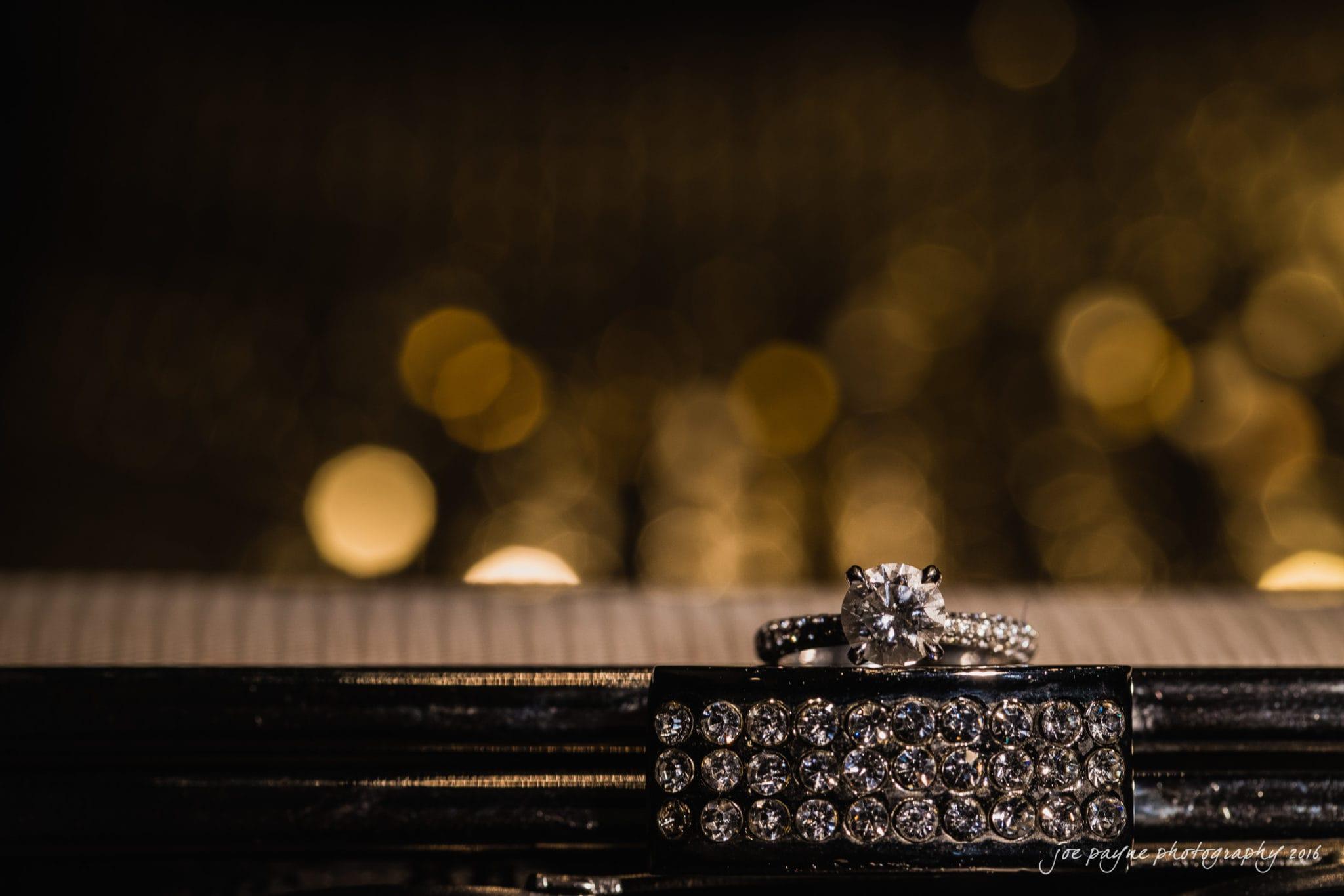 Cloth Mill at Eno River Wedding Photographer - Ring Shot
