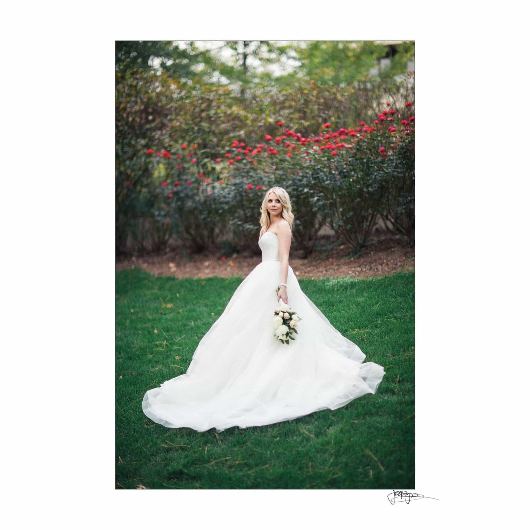 Umstead Hotel Wedding Bridal Roses