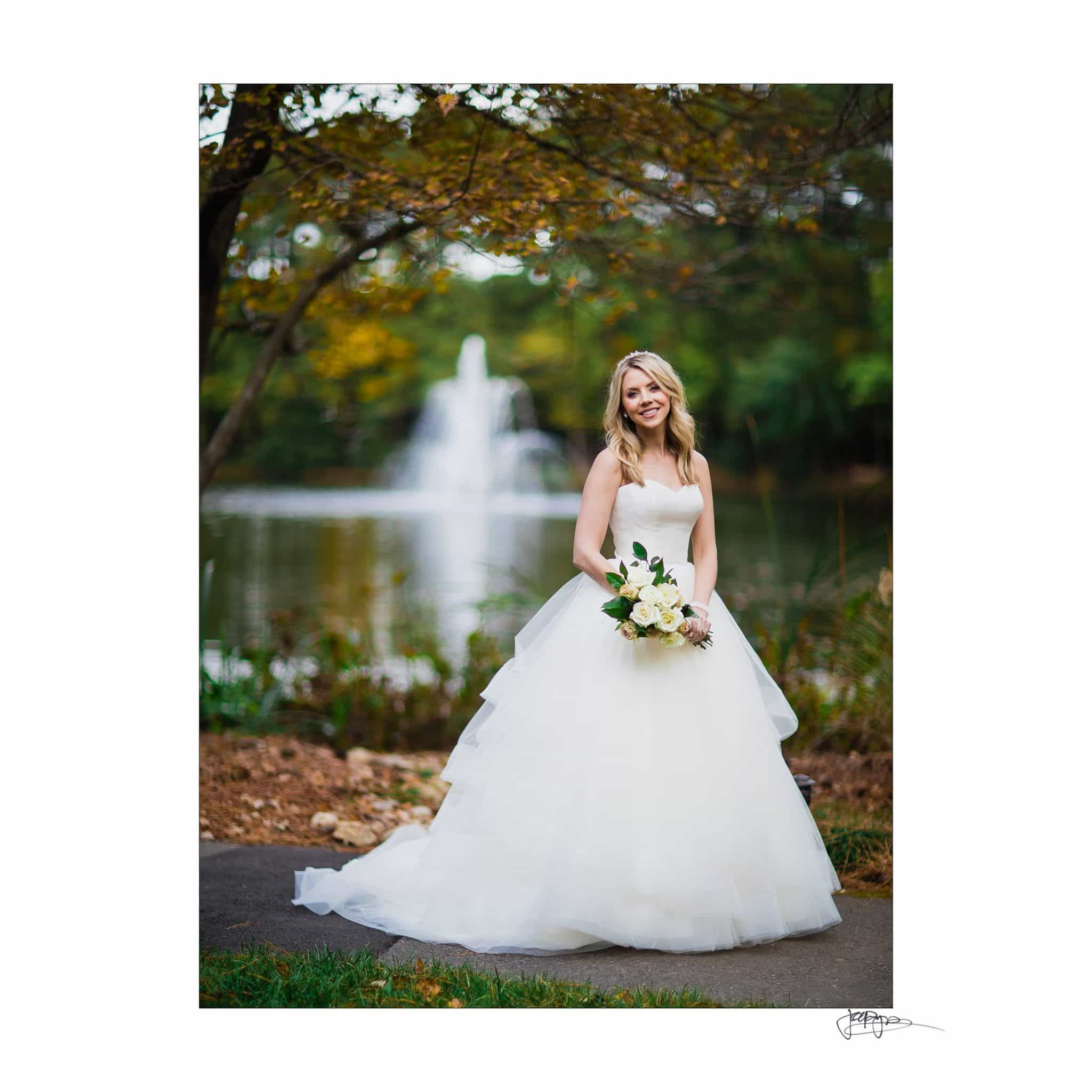 Umstead Hotel Wedding Bridal Photograph by Fountain