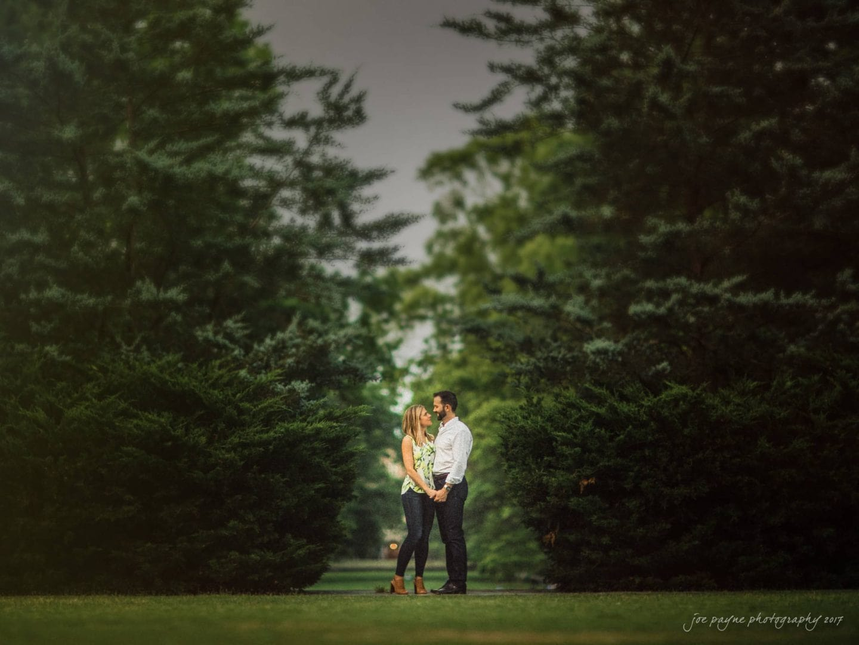 duke gardens engagement photography – margo & patrick