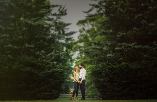 duke gardens engagement photography – margo & patrick