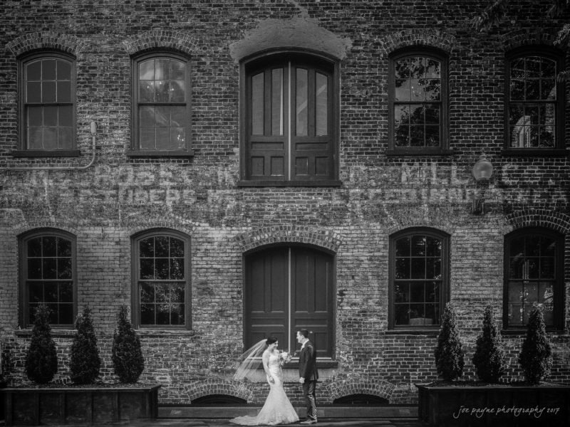 melrose knitting mill wedding – natalie & elliot