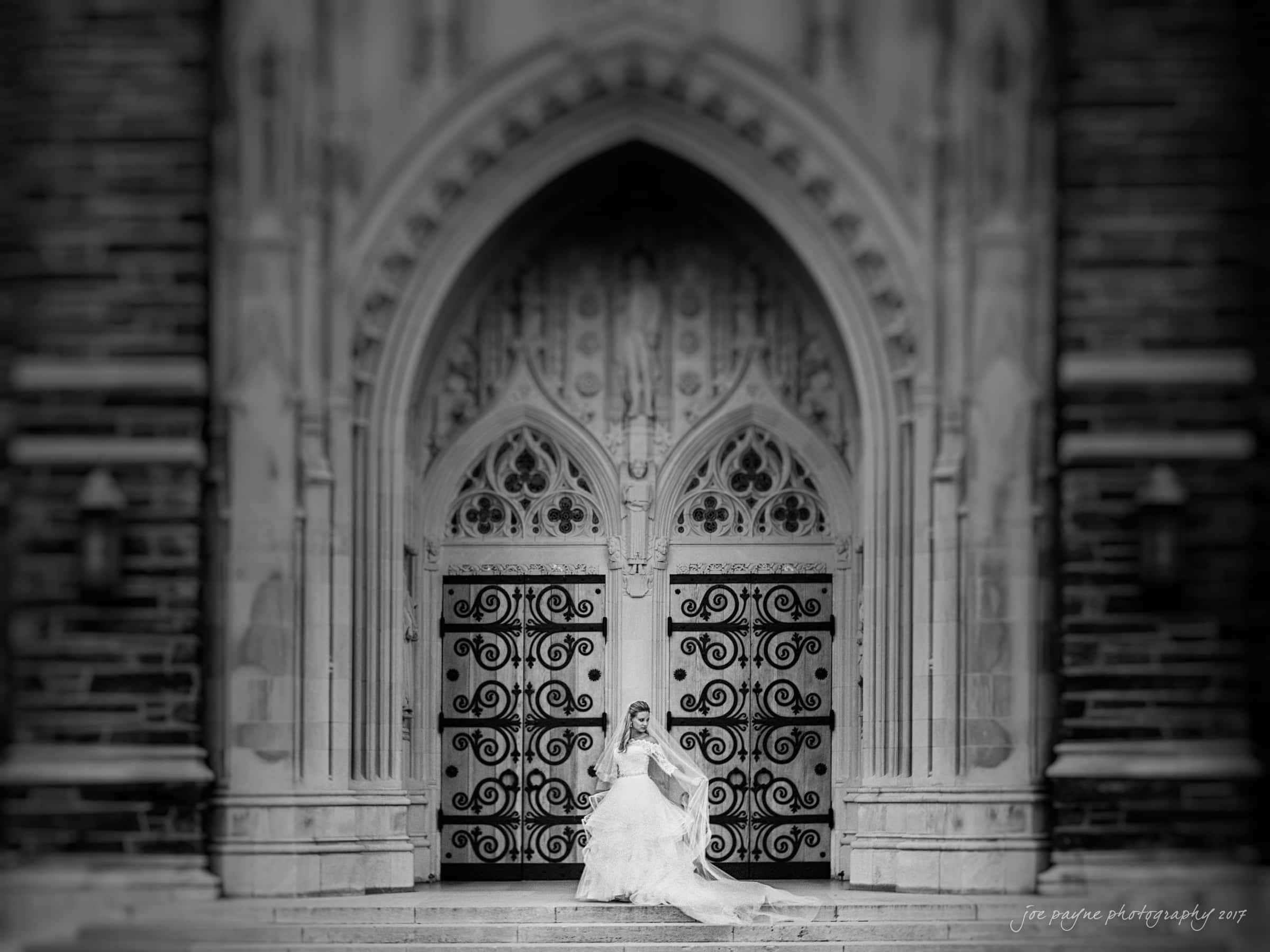 duke chapel wedding photography – sara's bridal session