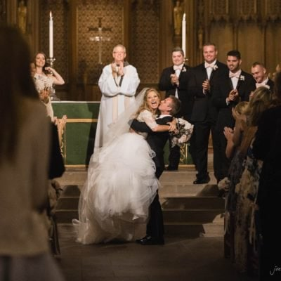 duke chapel wedding photos – sara & ross