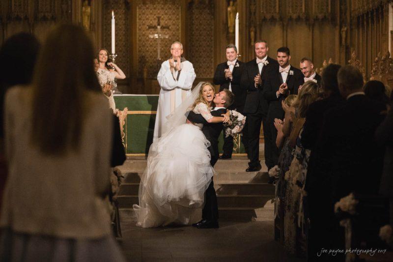 duke chapel wedding photos – sara & ross