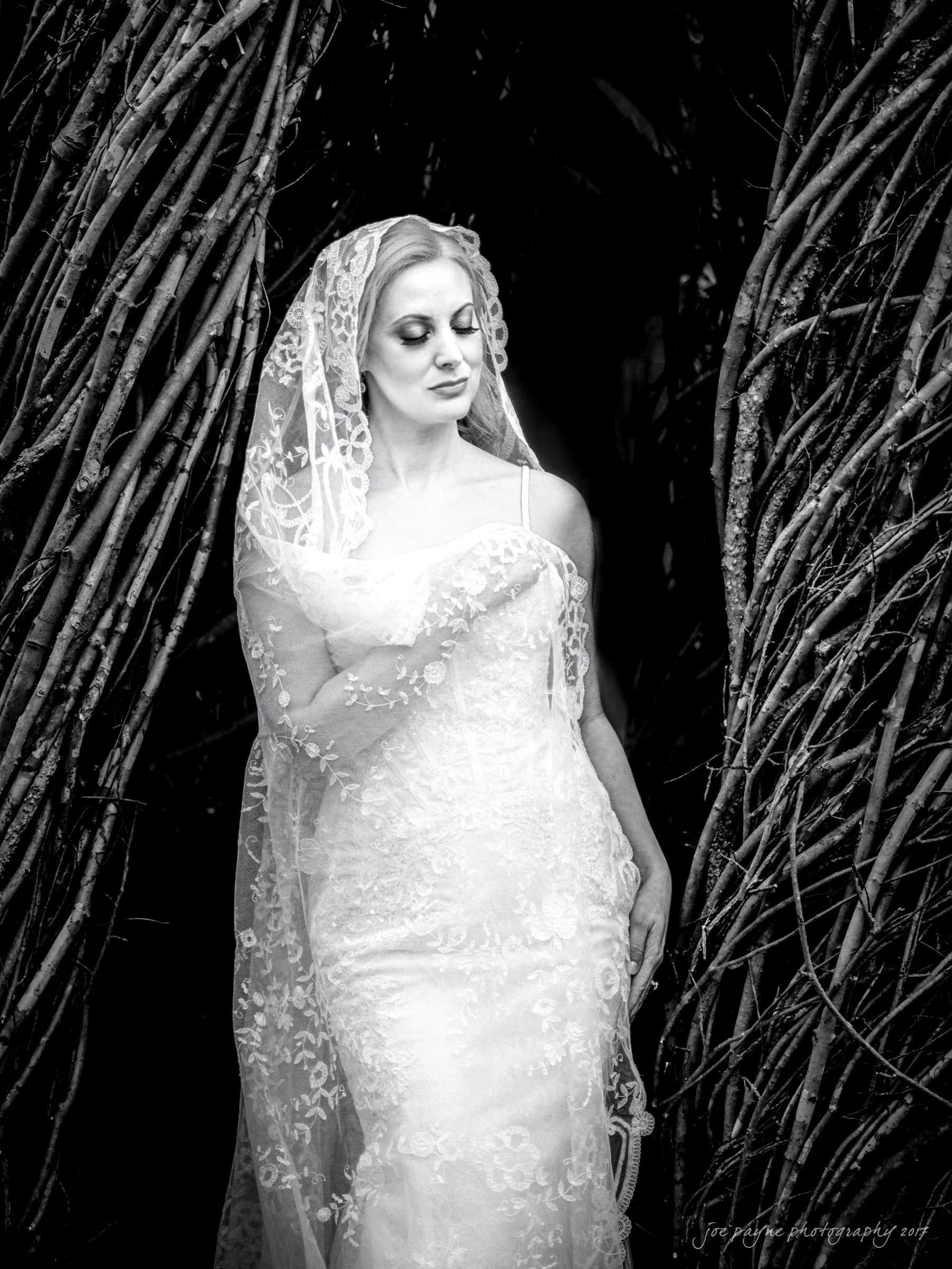 duke gardens wedding photography - elizabeth's bridal session