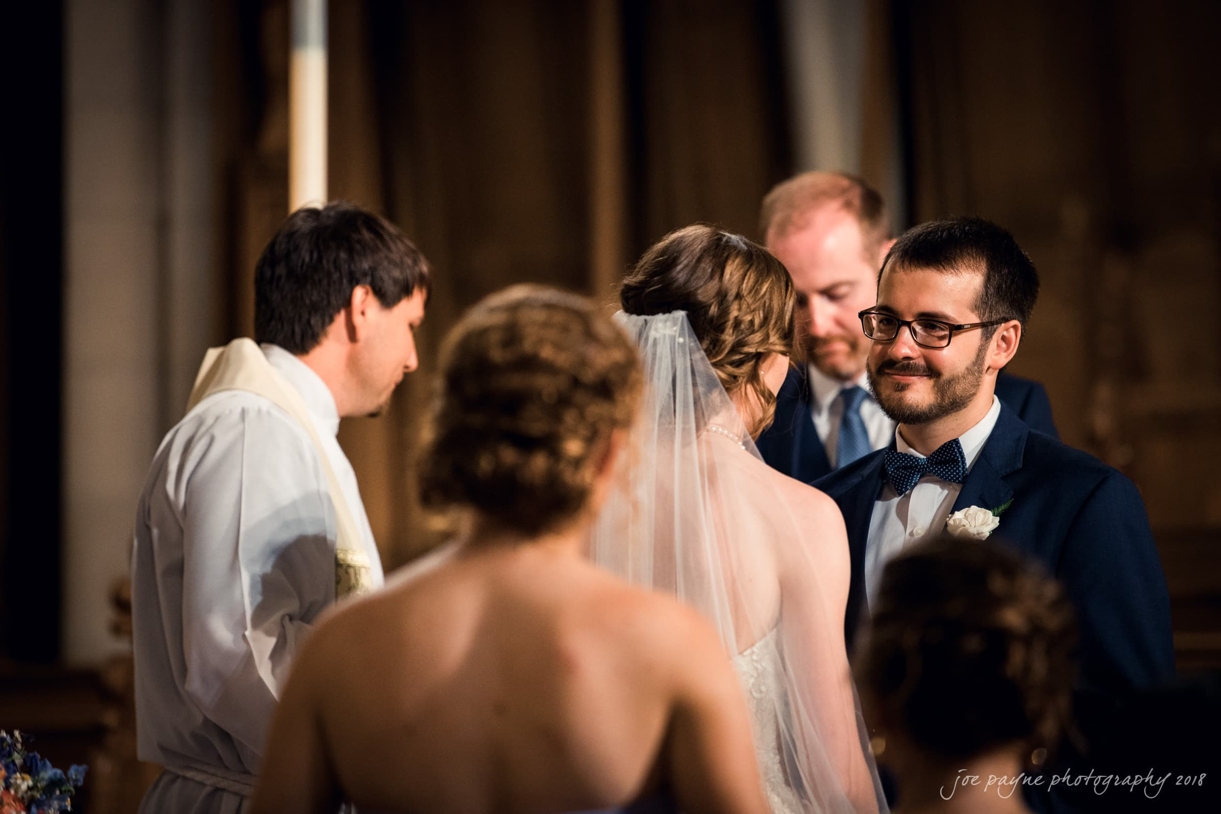 duke chapel & cotton room wedding photographer – hannah & andrew