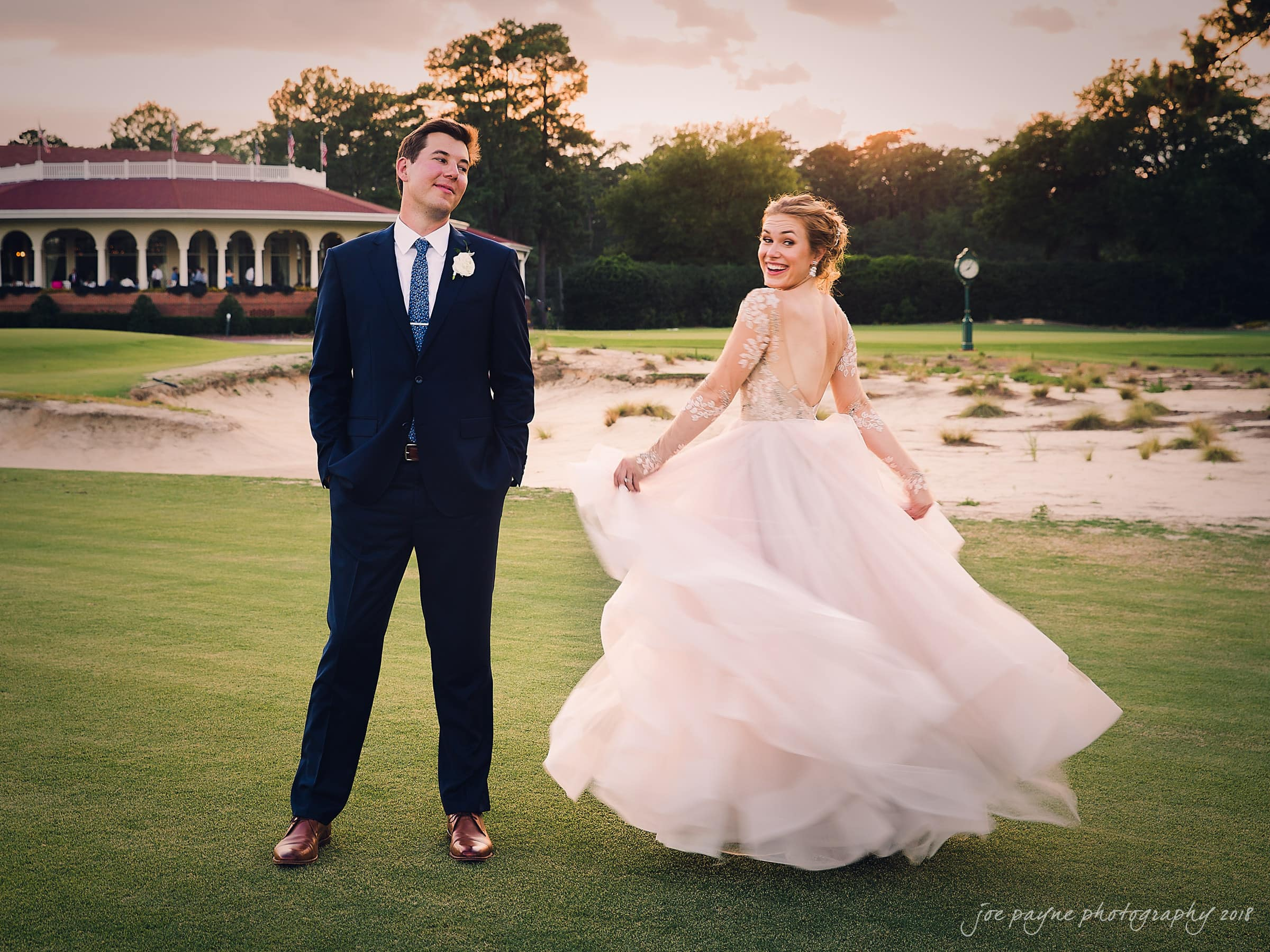 village chapel & pinehurst resort wedding – melissa & matt