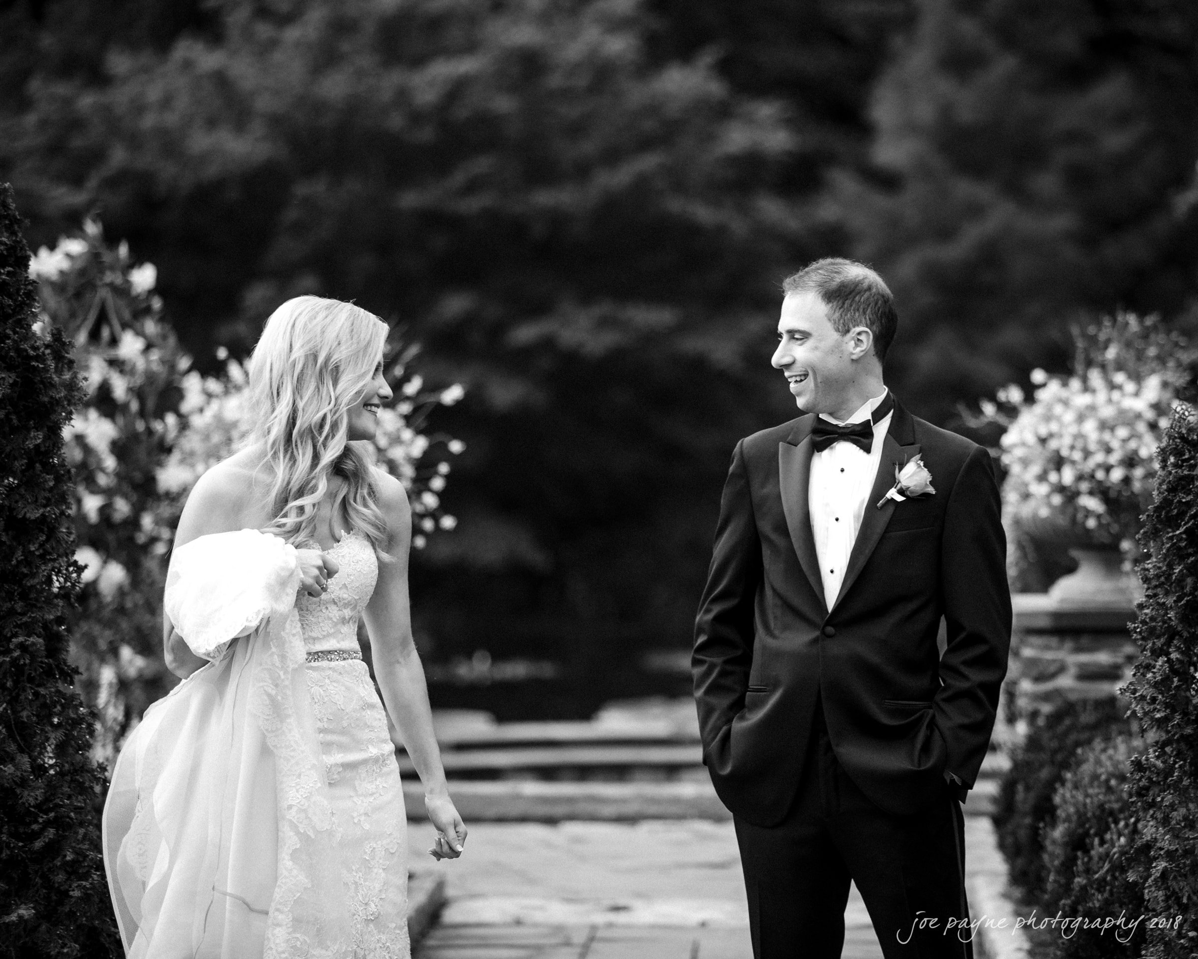 angle amphitheater at duke gardens wedding – katherine & andy