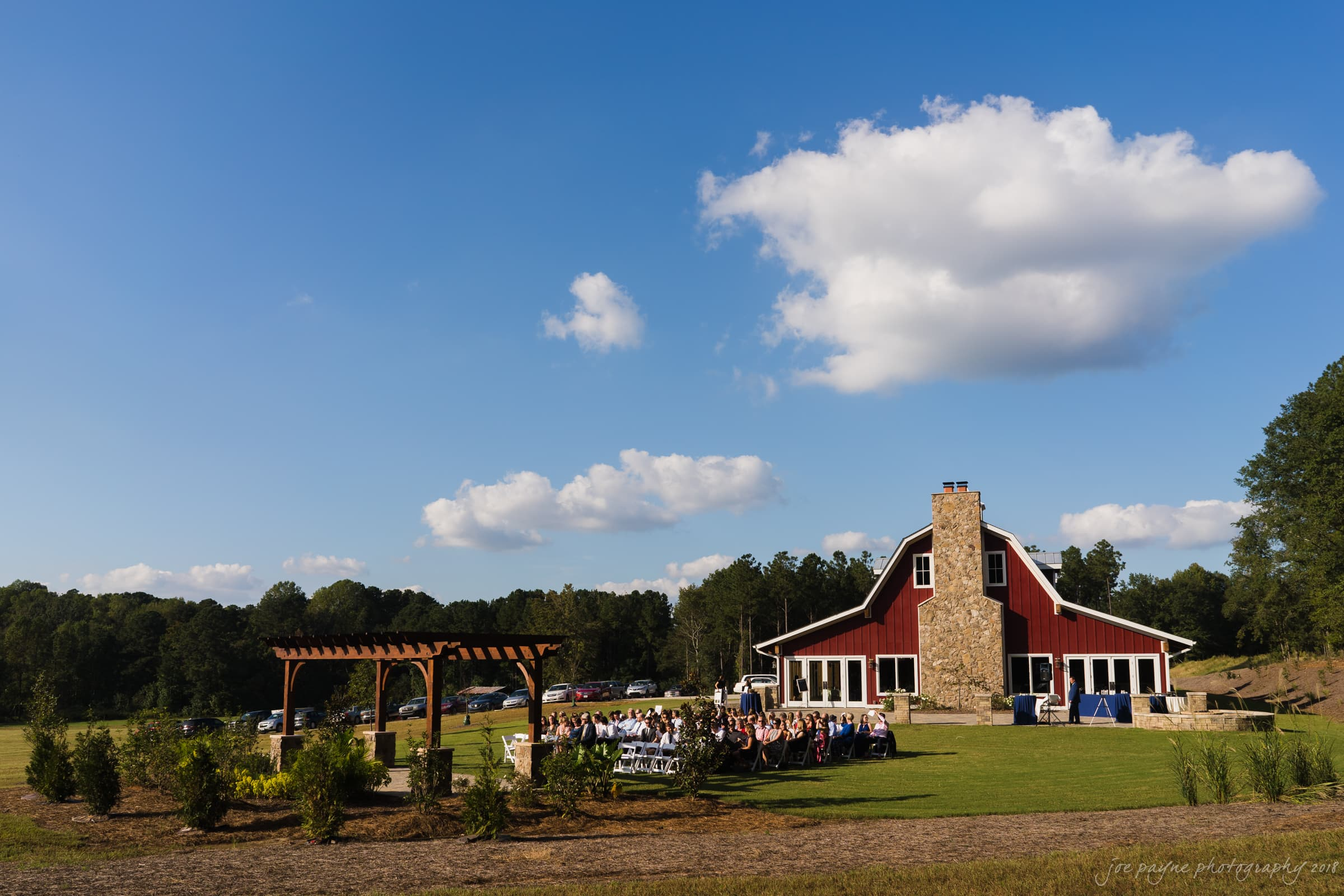 pavilion at carriage farms wedding