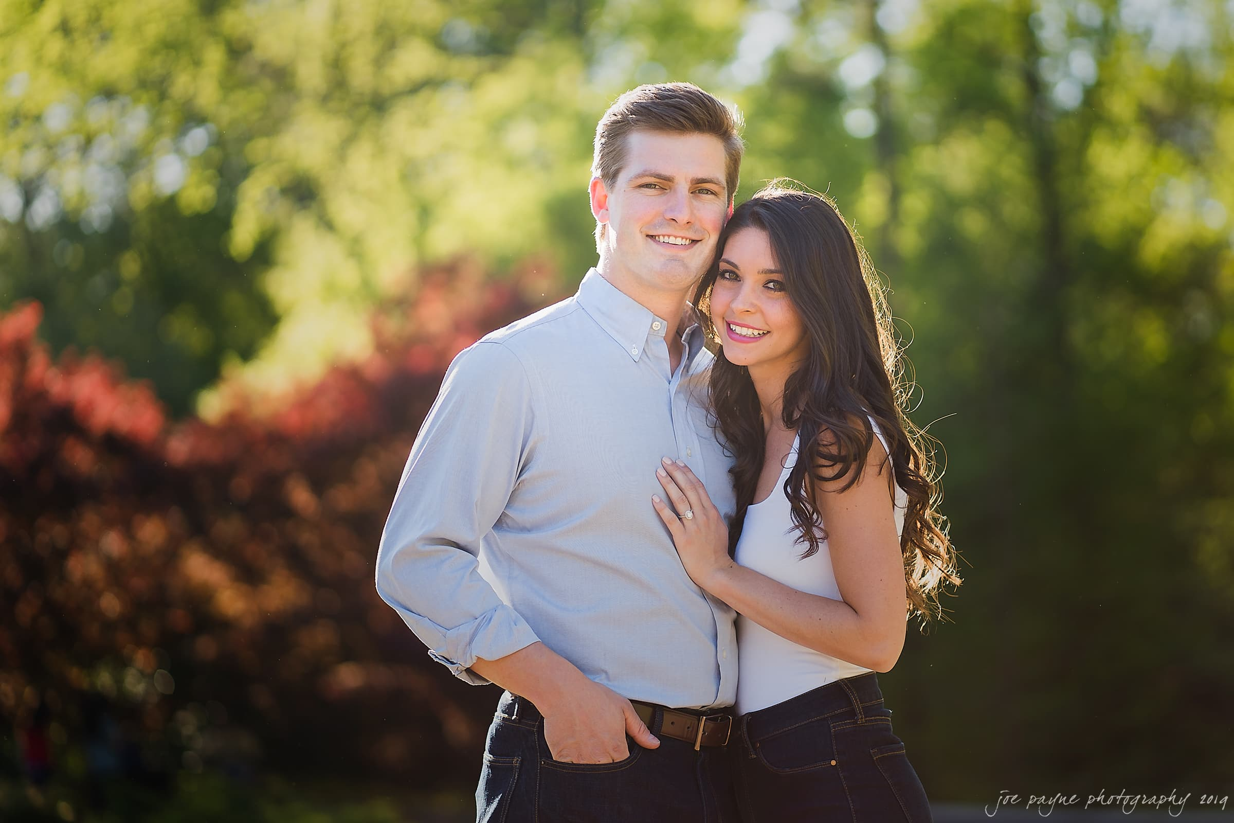 duke gardens engagement photography nikki john 1
