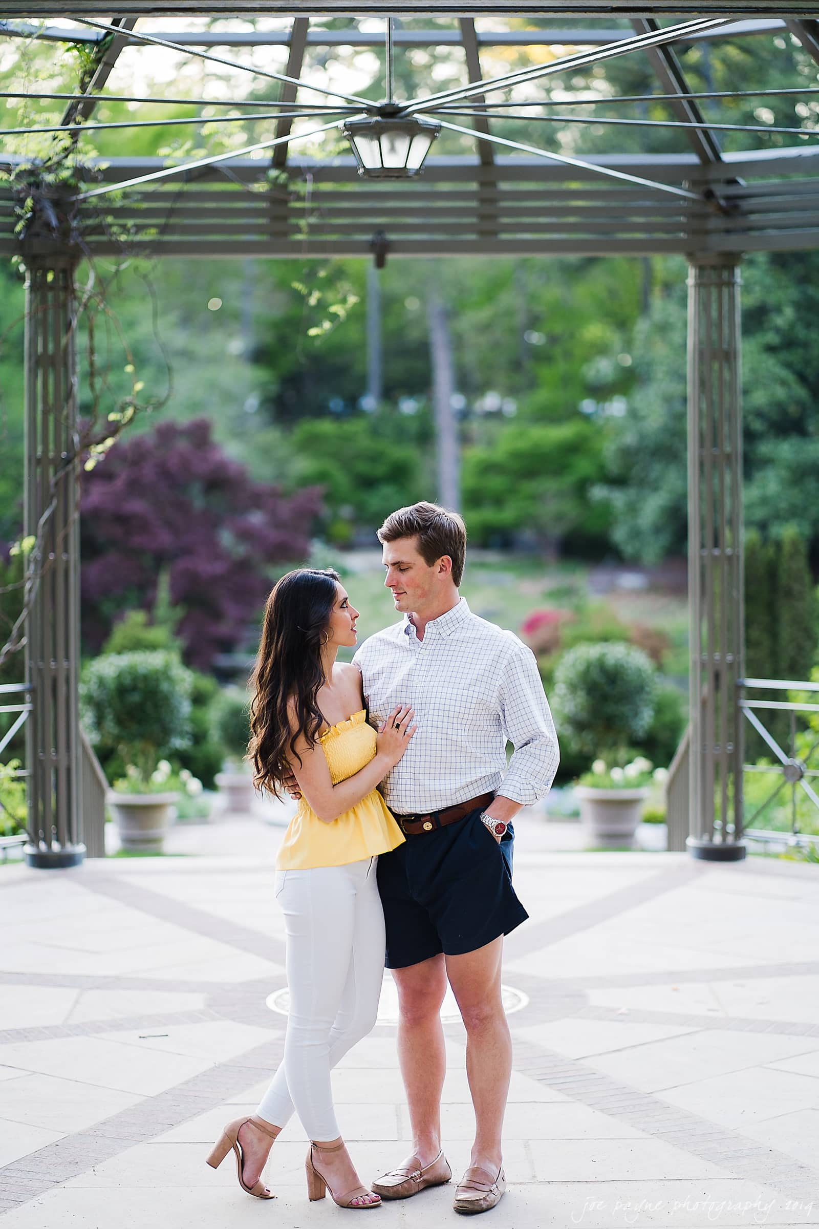 duke gardens engagement photography nikki john 13