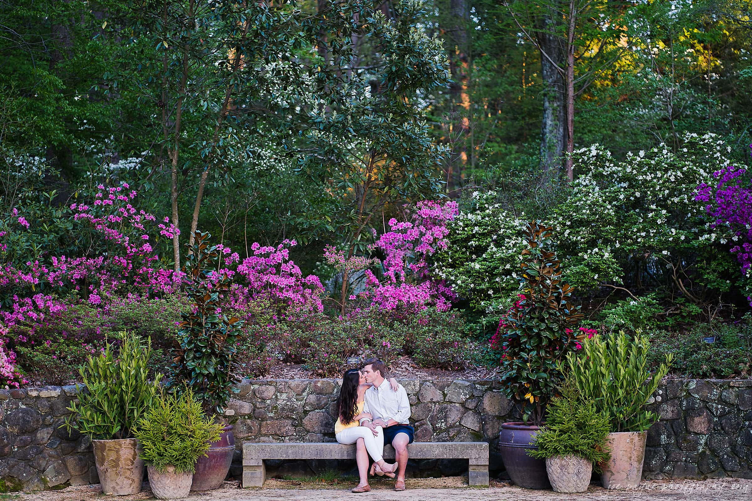 duke gardens engagement photography nikki john 15