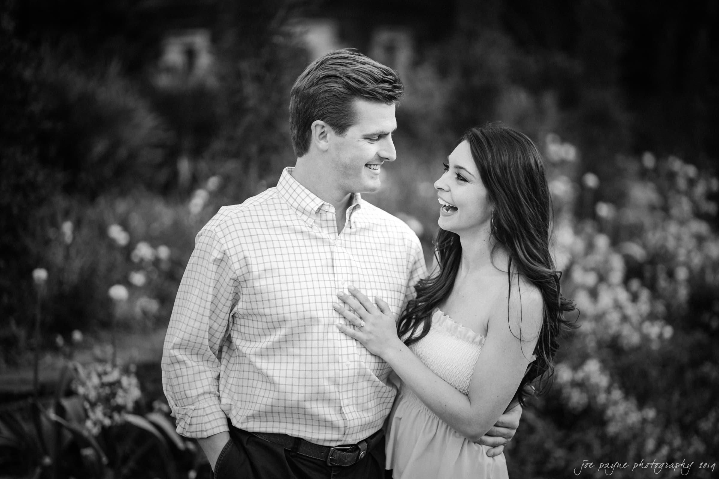 duke gardens engagement session – nikki & john