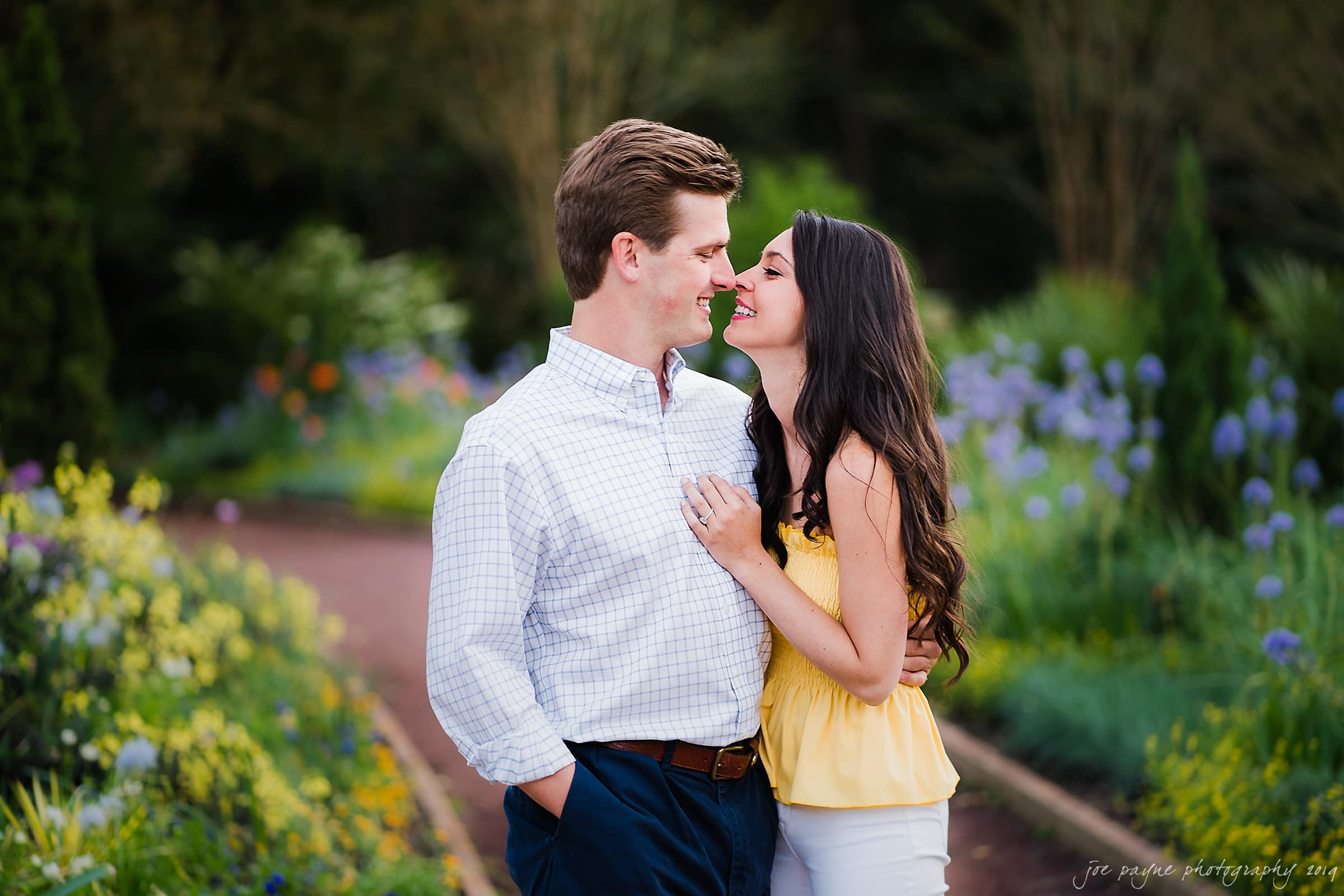 duke gardens engagement photography nikki john 20