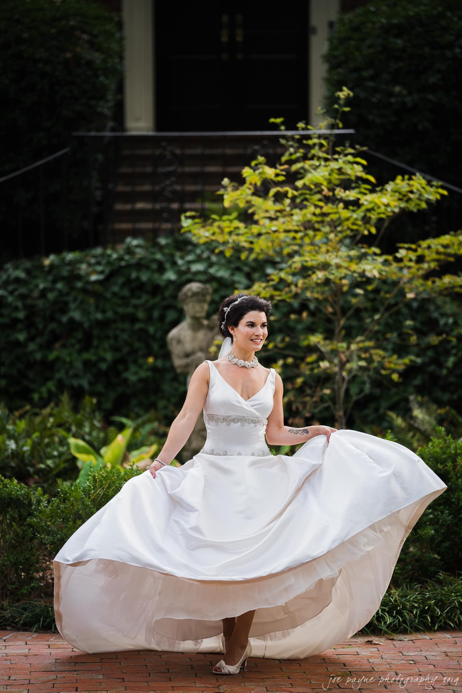 new bern wedding photography – christina's backyard bridal session