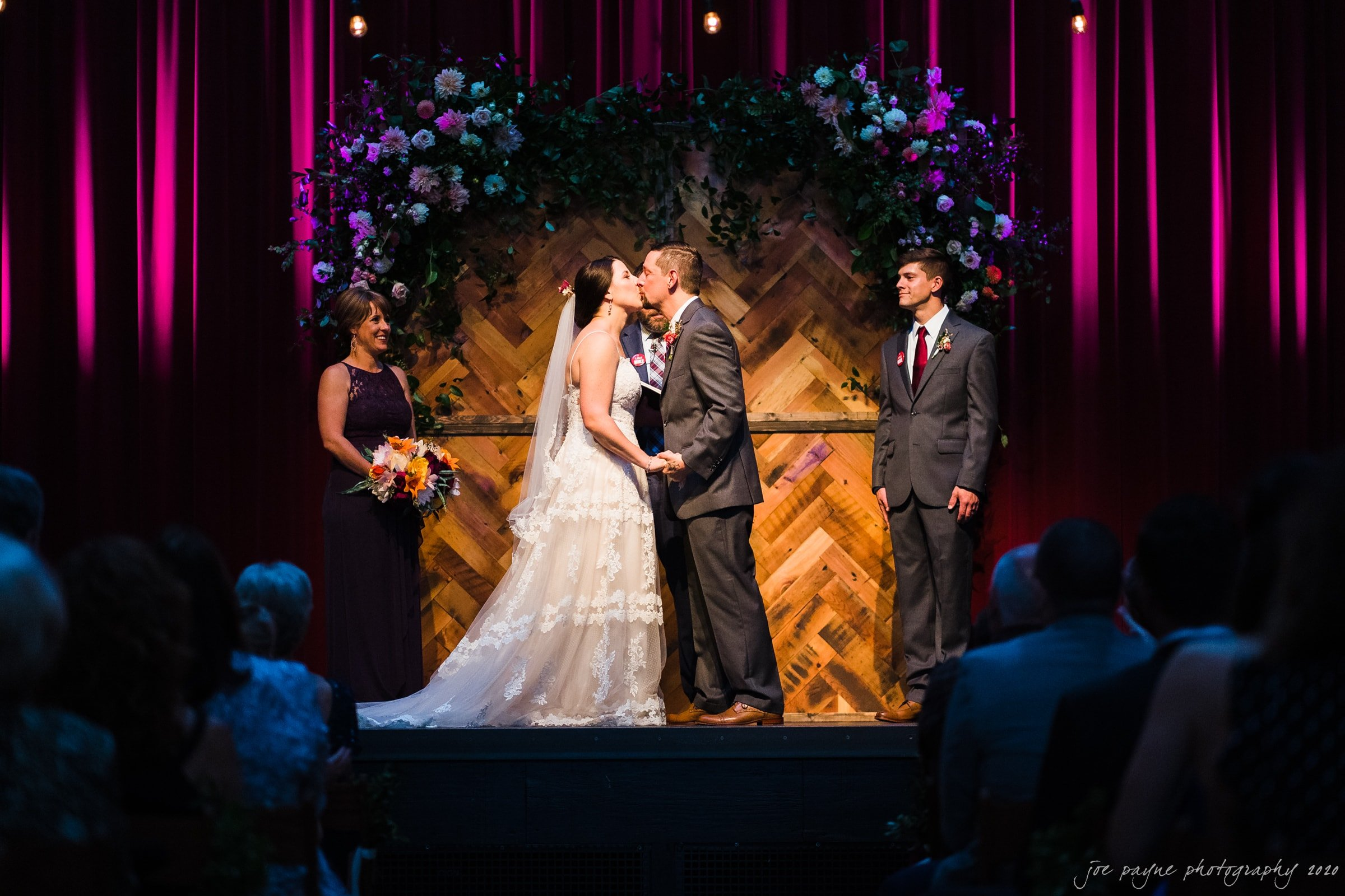 haw river ballroom wedding – laura & randall