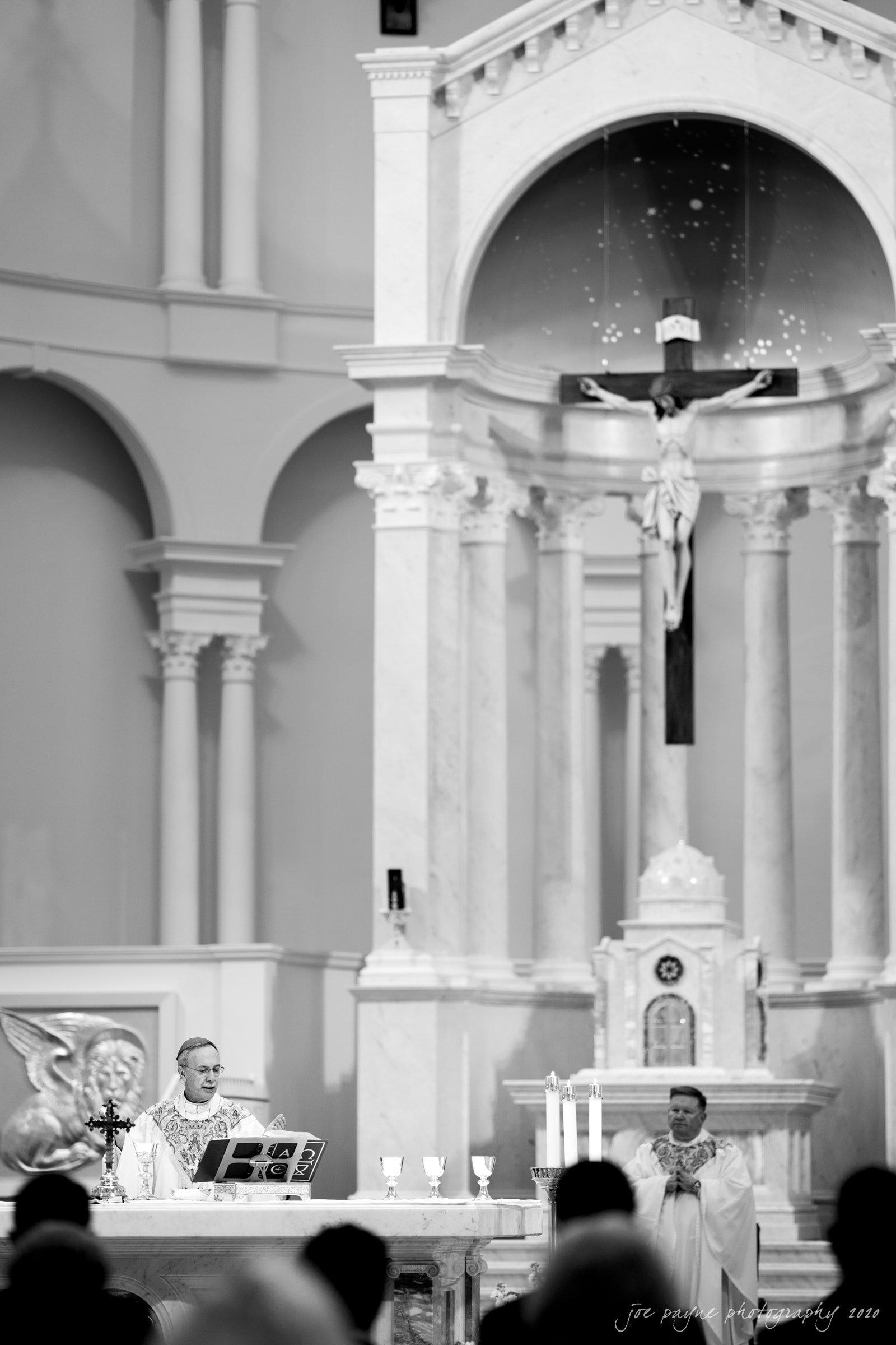 holy name of Jesus wedding Most Reverend Luis Rafael Zarama
