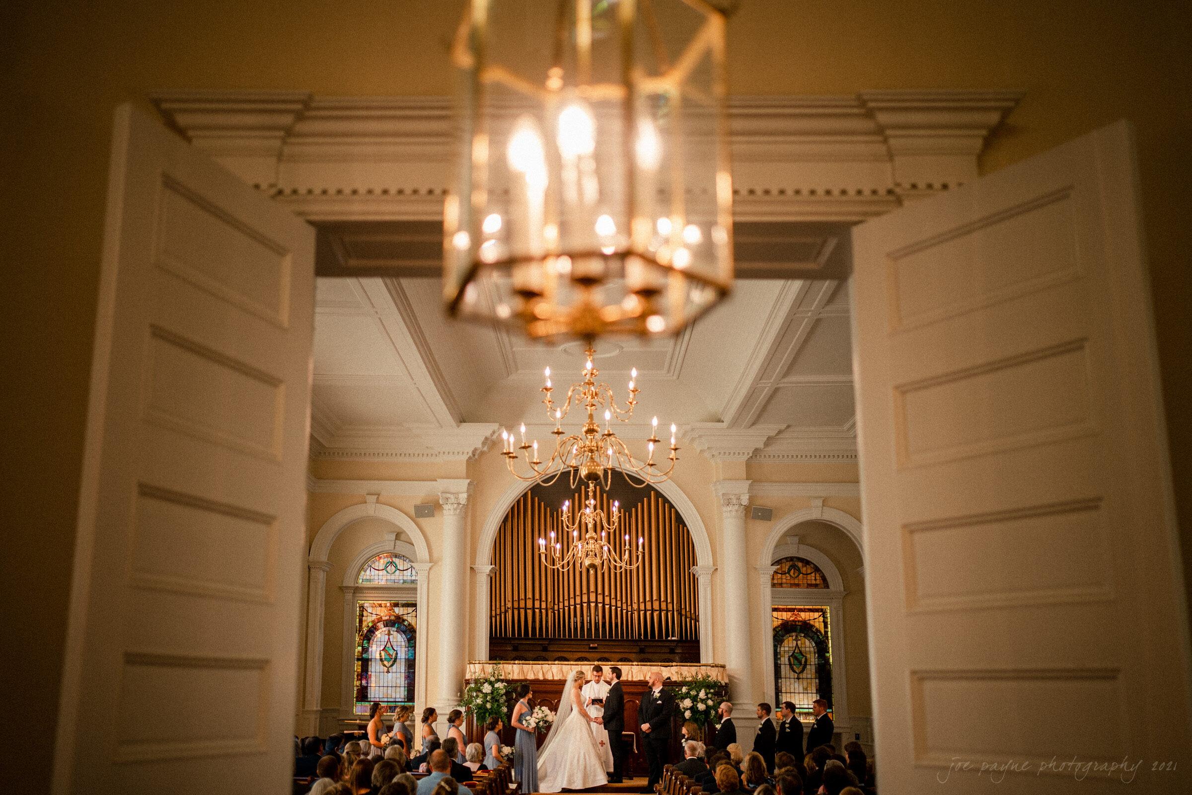 Howard Memorial Presbyterian Church Blount Bridgers House Tarboro NC Wedding Julianne John 14